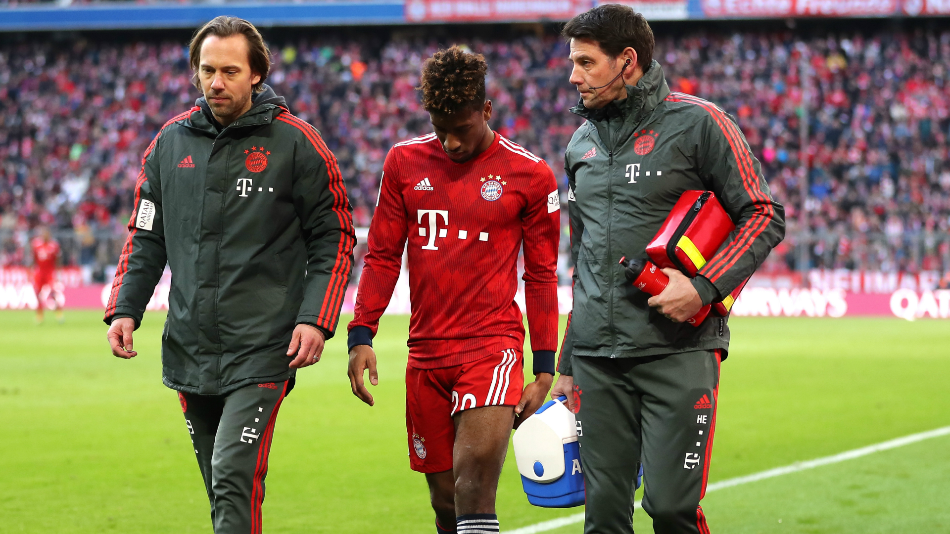 Kovac waiting on Coman tests after winger lasts nine minutes against Hertha