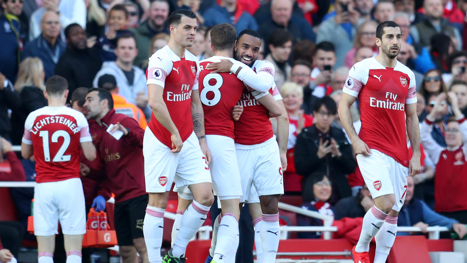 Arsenal taking it 'step by step' in race for fourth - Emery