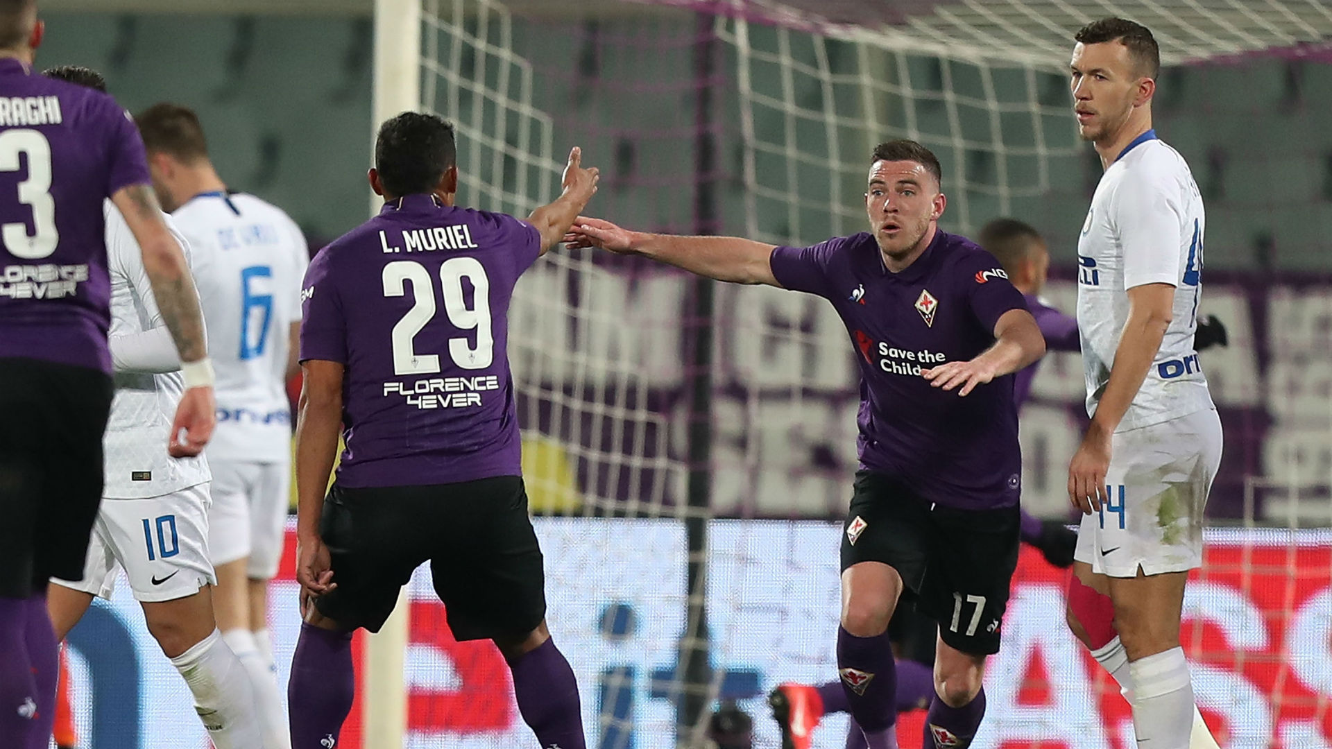Fiorentina 3 Inter 3: VAR at the fore as Spalletti's side succumb to late show