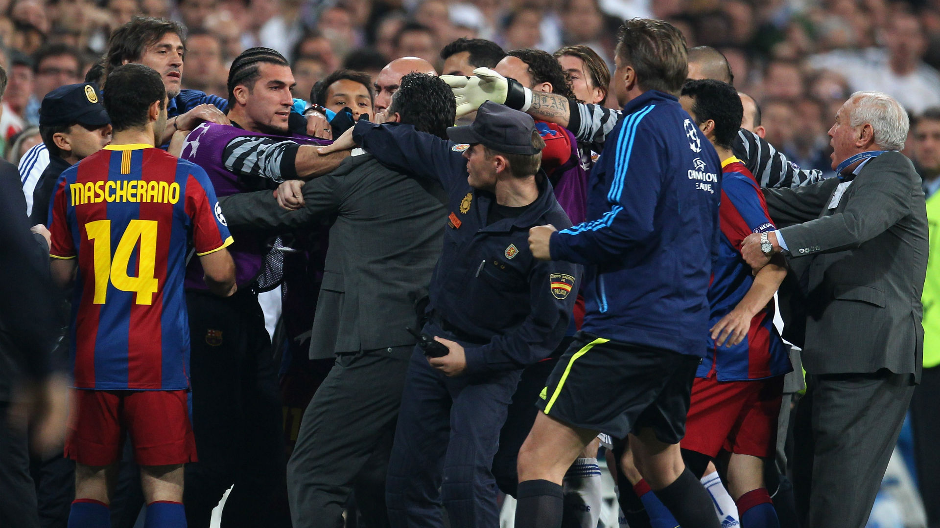 'Scandal at the Bernabeu', majestic Messi and 'Mourinho's the f****** chief' – Remembering 2011's Clasico mayhem