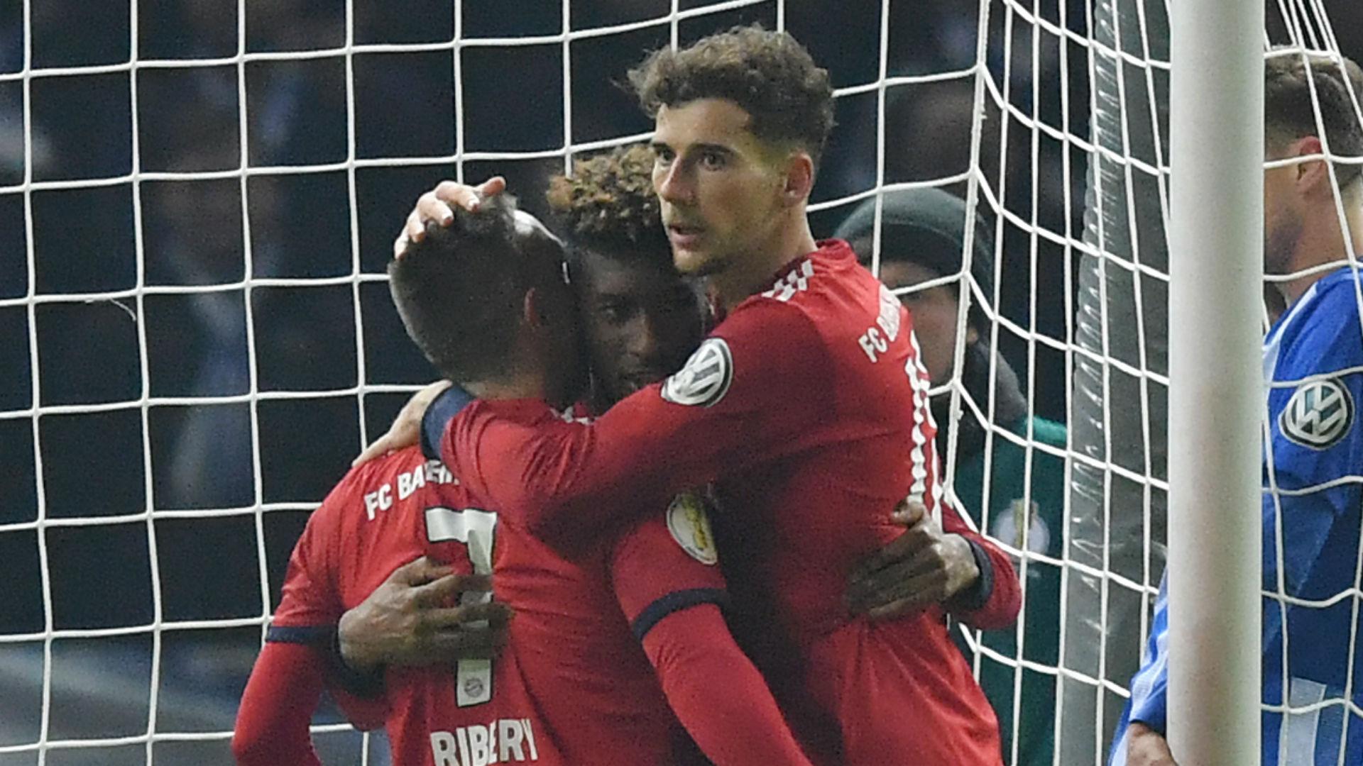Hertha Berlin 2 Bayern Munich 3 (AET): Coman heads Bayern into quarters
