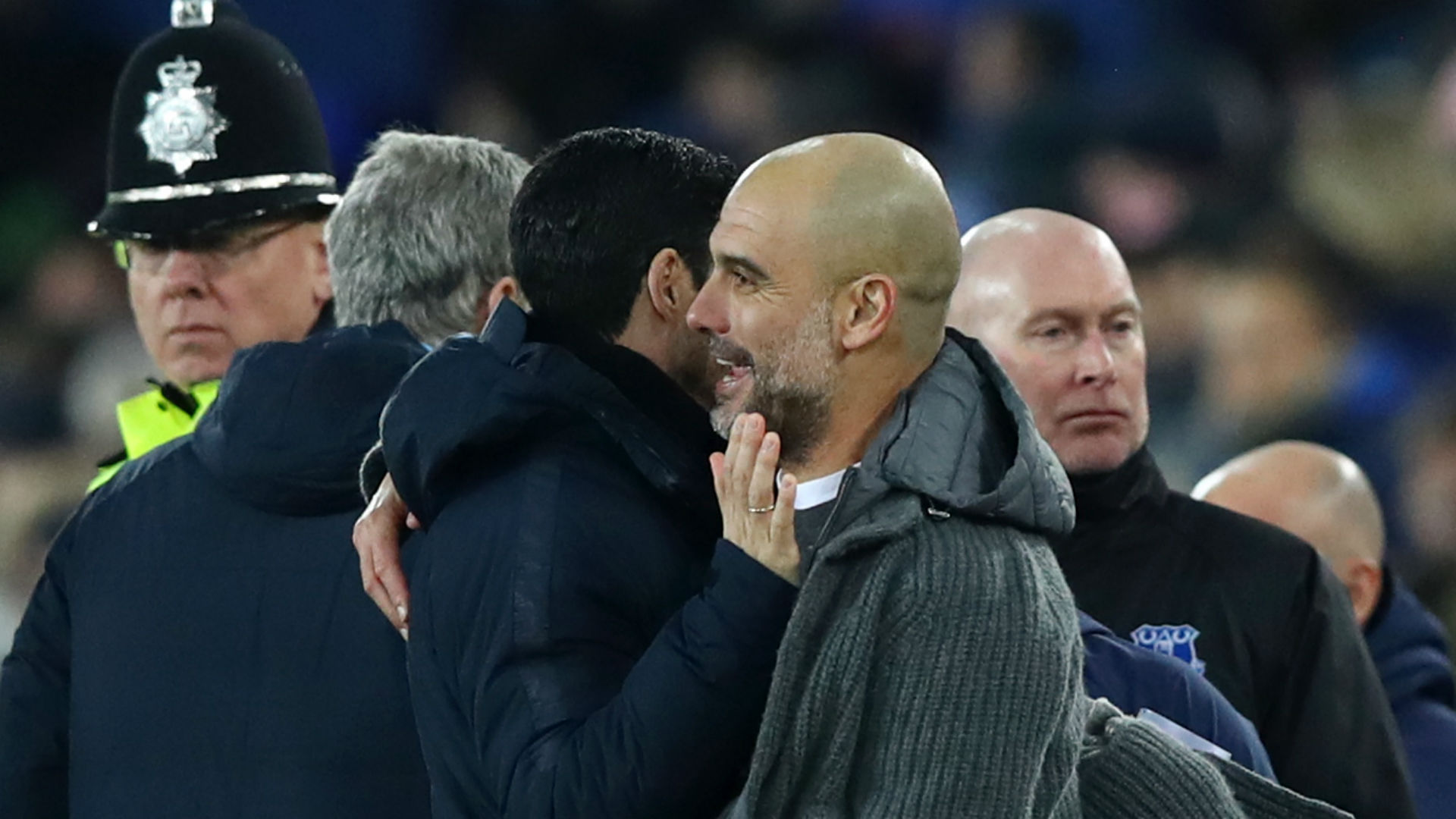 Guardiola praises resilient City as they return to Premier League summit