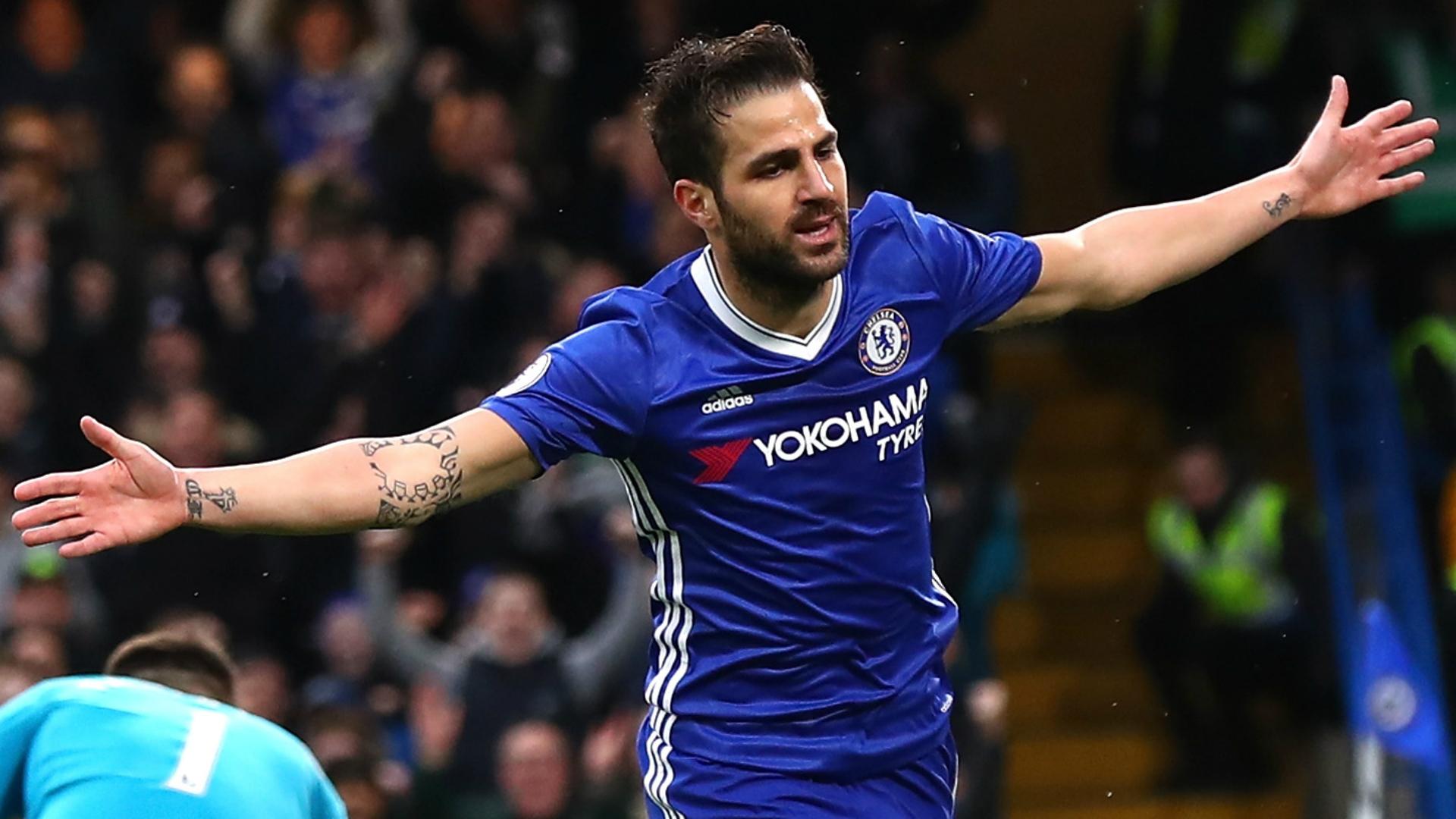 Fabregas departs Chelsea for Monaco