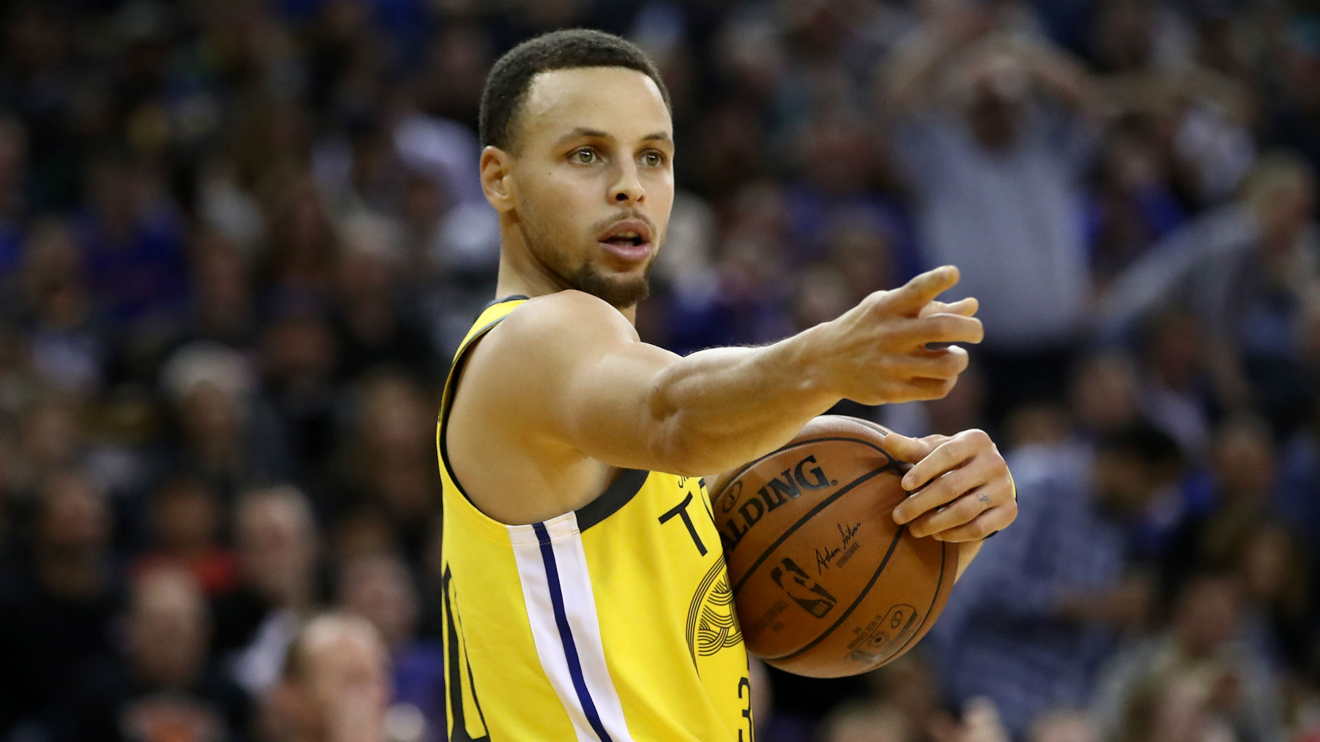 Curry wants game ball signed by Miller and Allen after going third in three-pointers made