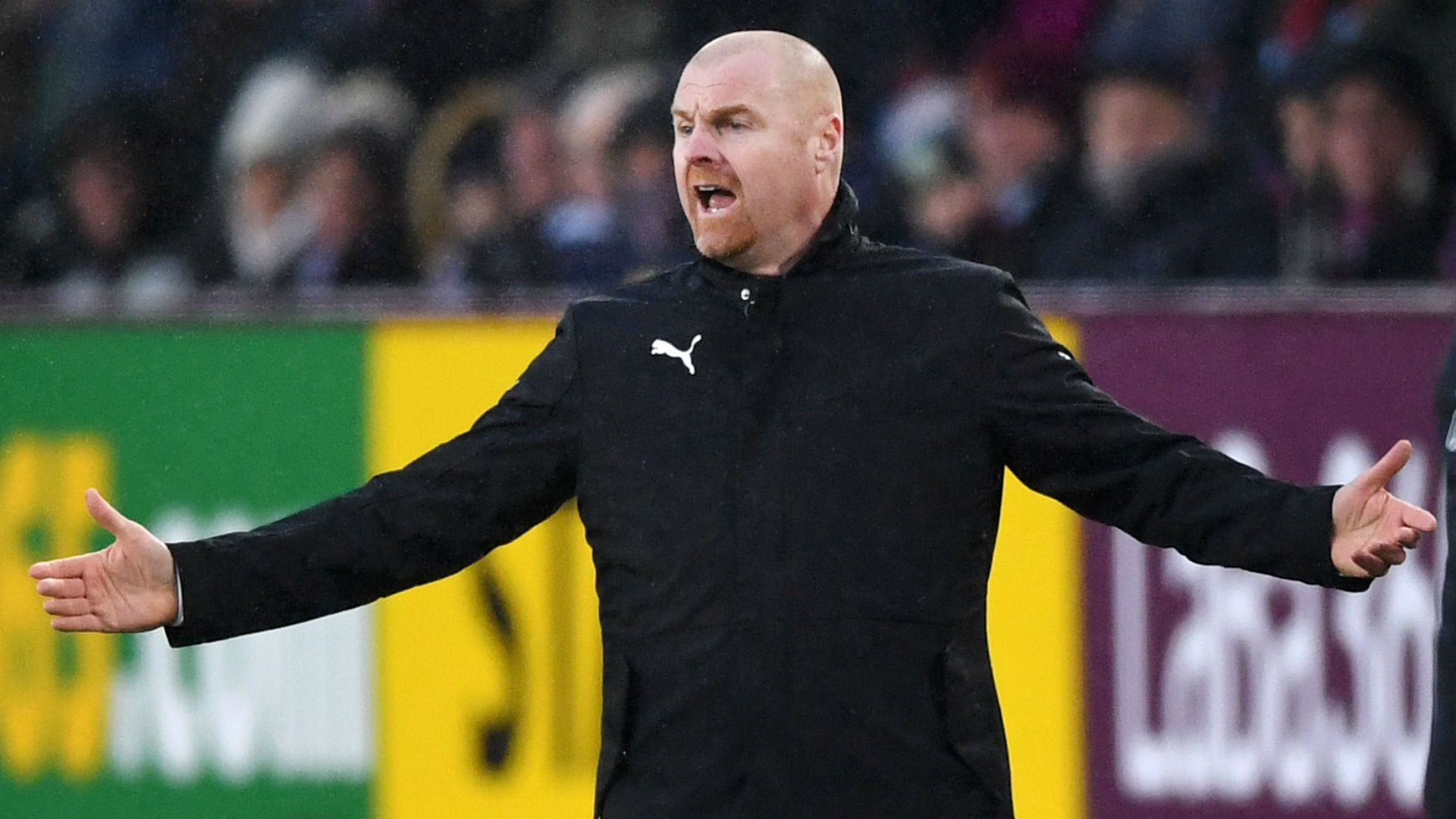 Dyche relieved as lady luck smiles on Burnley