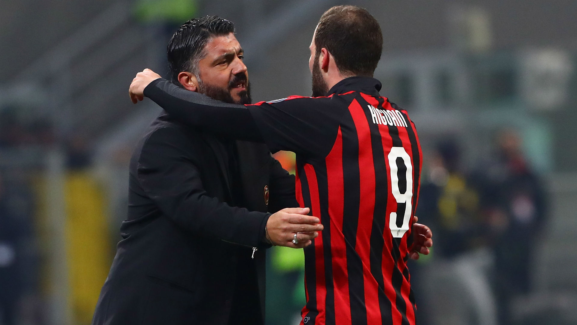 It's difficult to convince him – Gattuso suggests Higuain wants Chelsea move