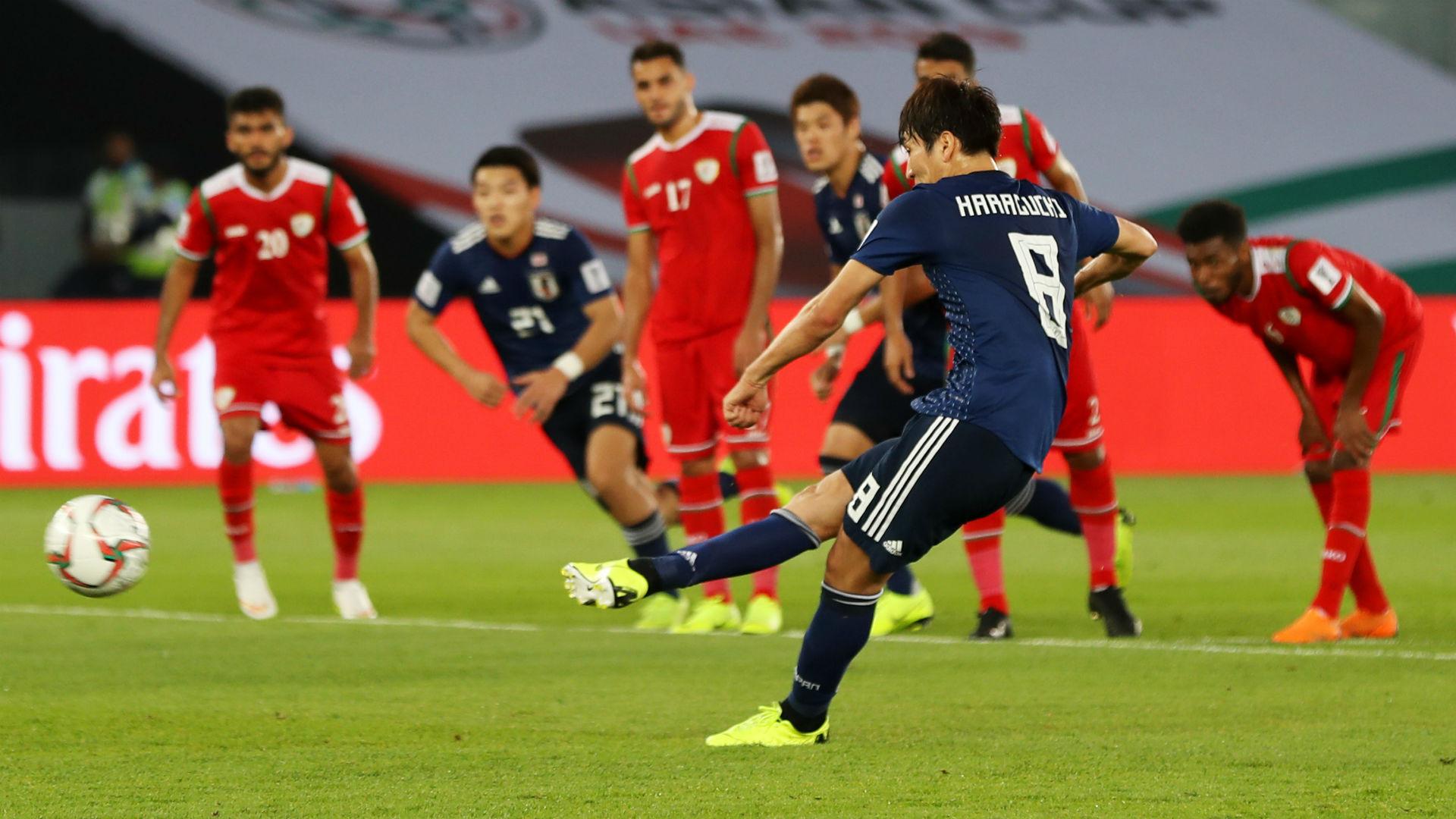 Oman 0 Japan 1: Controversial Haraguchi penalty seals progress