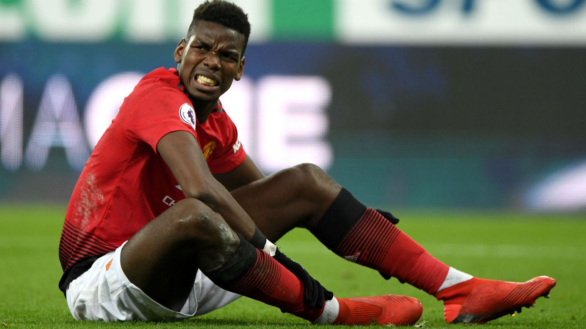 Pogba fit after knee injury, Lukaku on the bench again