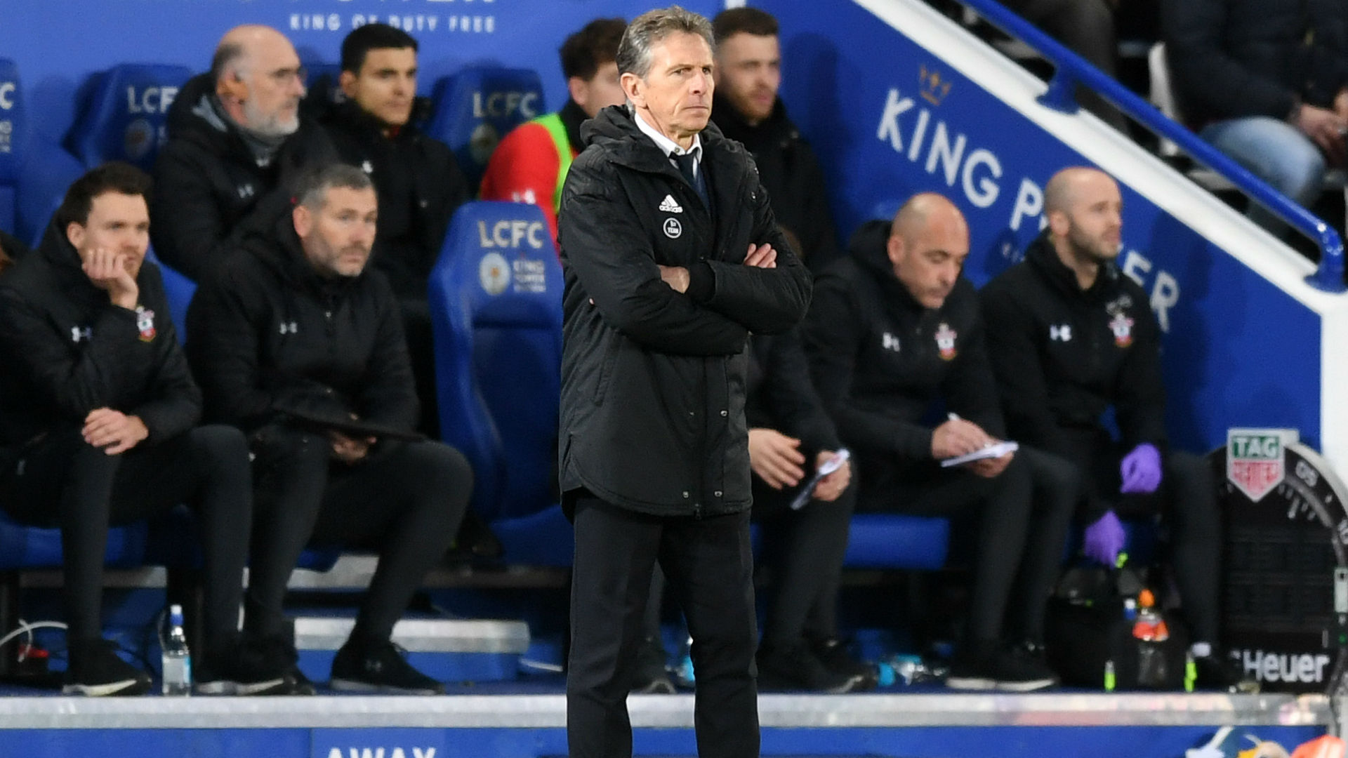 I'm just focused and concentrating on my team - Puel stays calm amid growing pressure