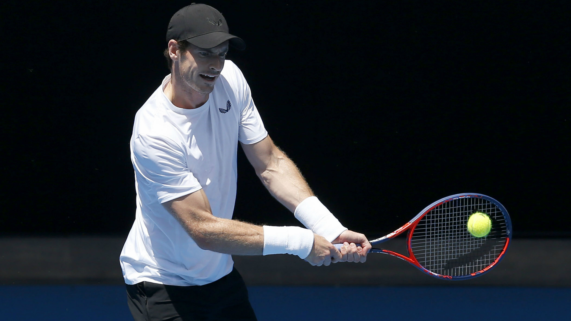Murray trains ahead of possible Aus Open farewell