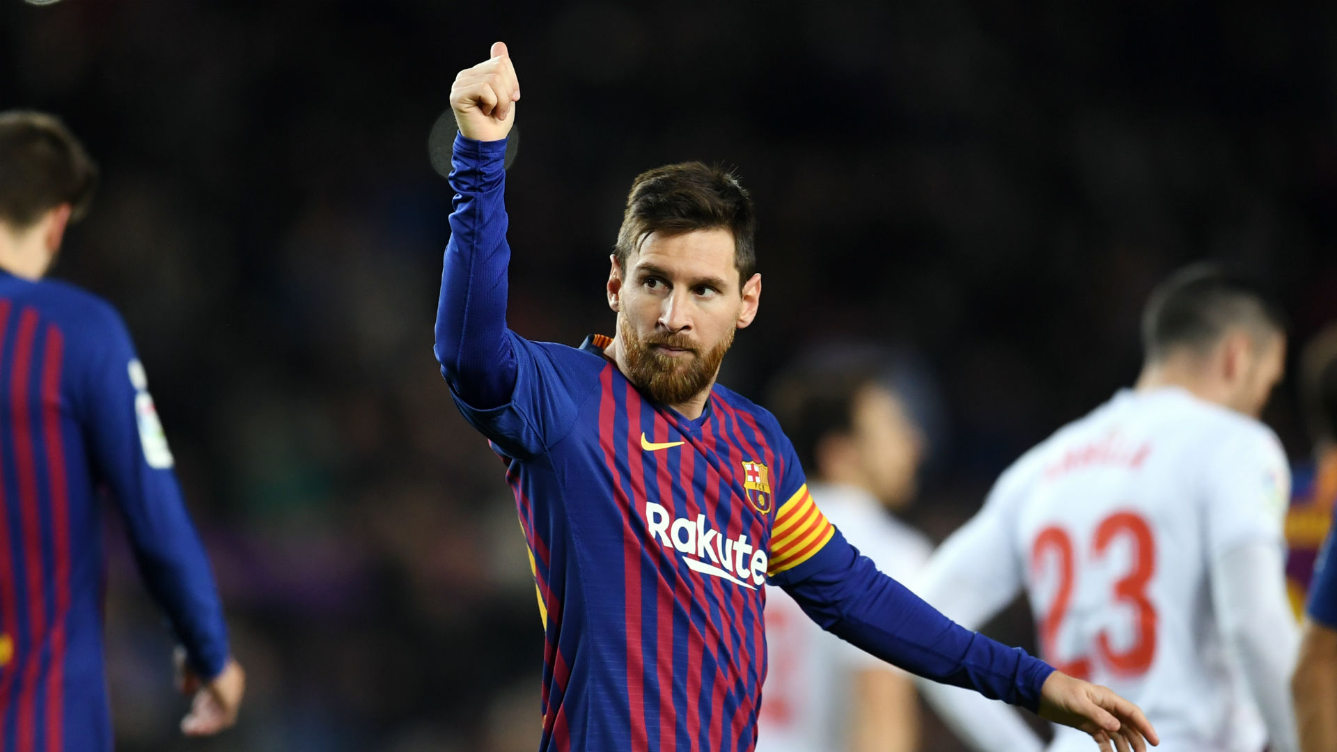 Barcelona 3 Eibar 0: Messi makes history with 400th LaLiga goal