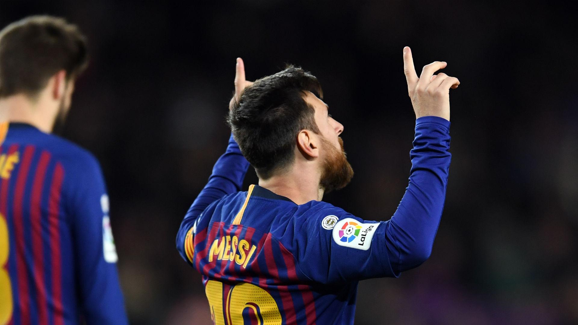Valverde hails history-maker Messi after landmark goal