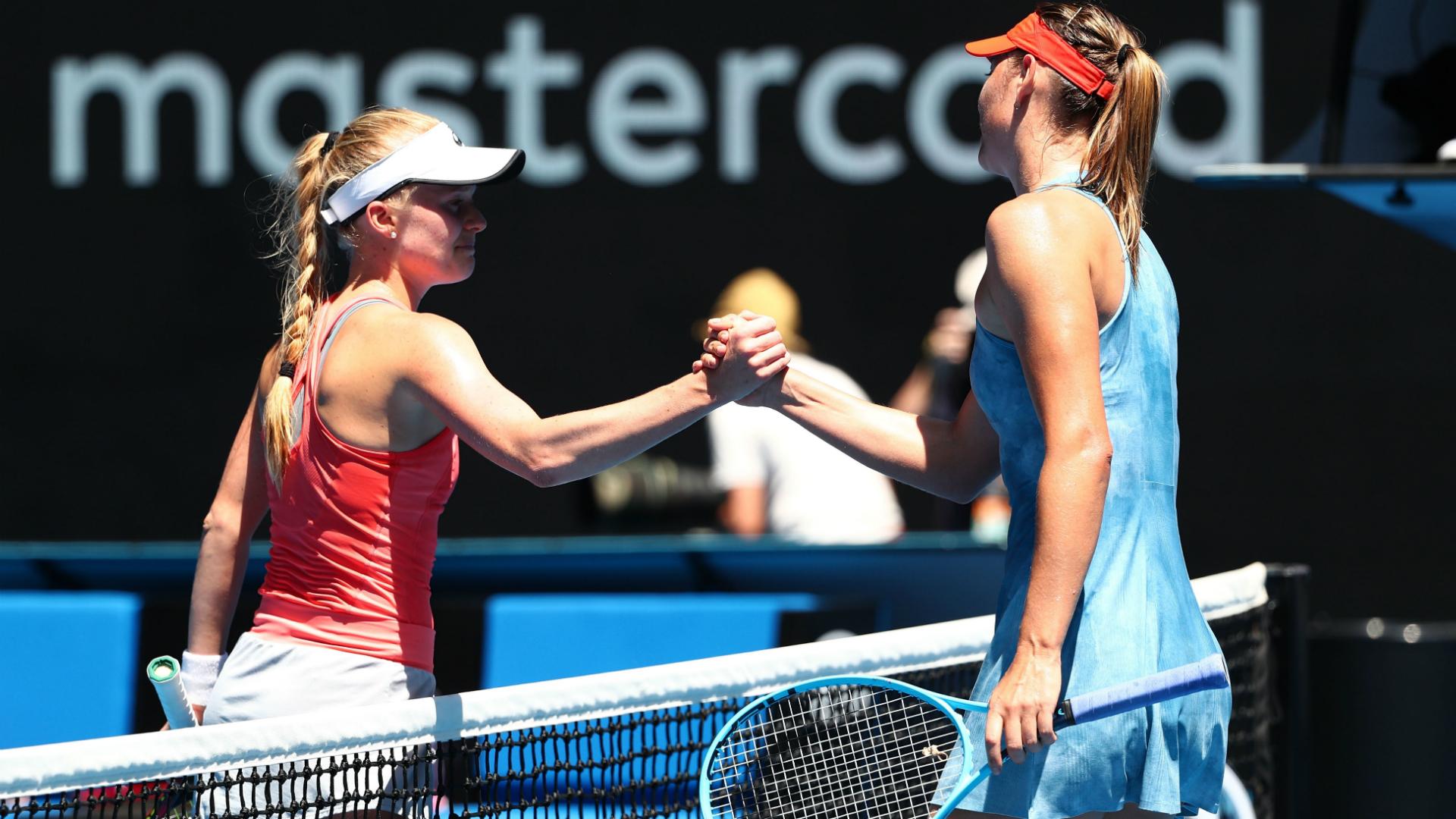 Sharapova shows no sympathy after handing Dart double-bagel