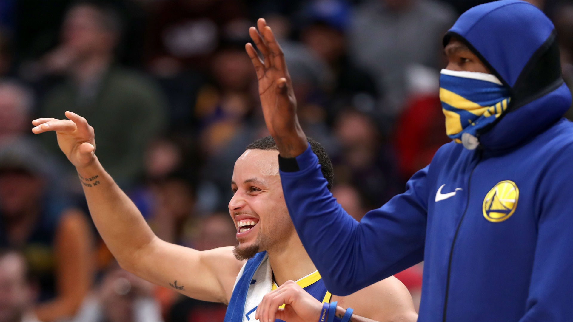 That was a fireworks show - Warriors revel in record-breaking first quarter