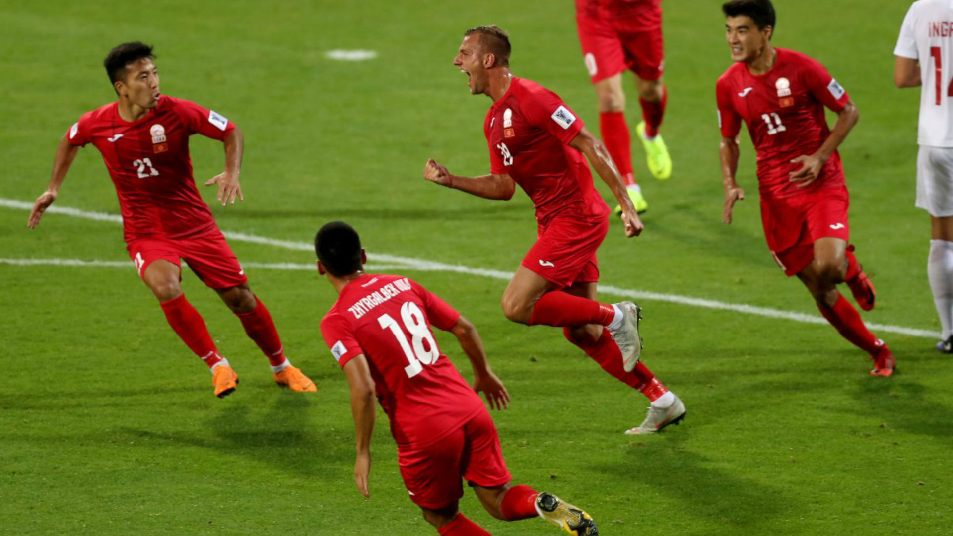 Kyrgyzstan 3 Philippines 1: Lux hat-trick gives White Falcons third-place hope