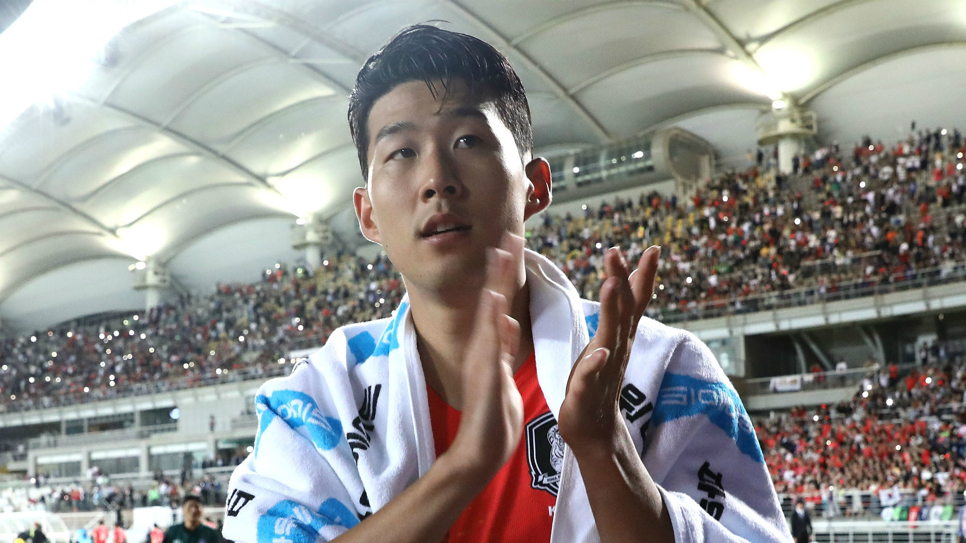 South Korea v China: Son arrives for Group C dead rubber
