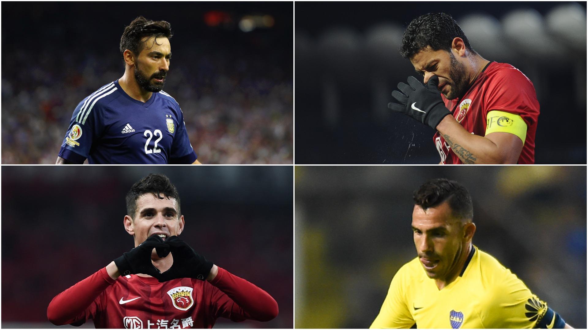 Tevez, Hulk, Oscar, Lavezzi - how the CSL stars Dembele is following to China fared
