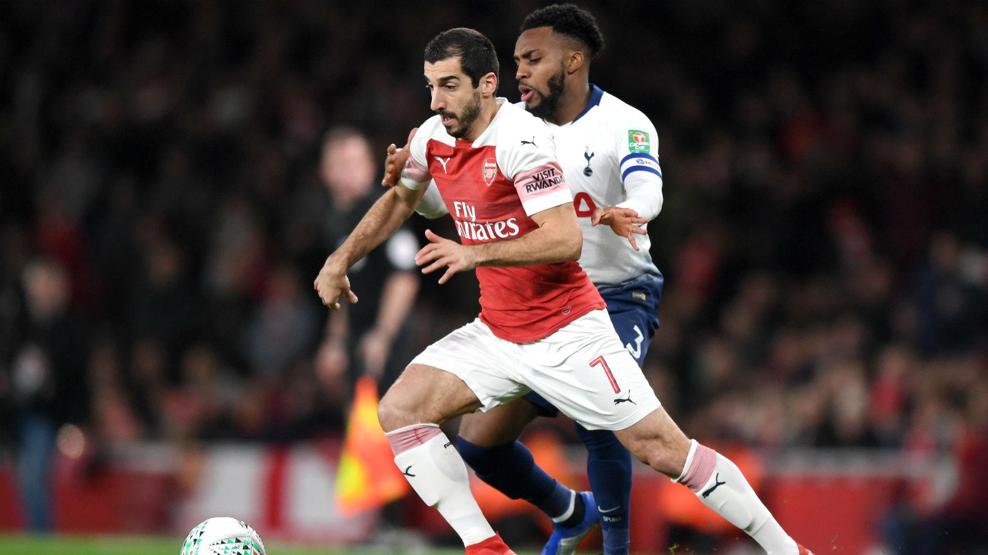 Mkhitaryan returning to Arsenal training next week