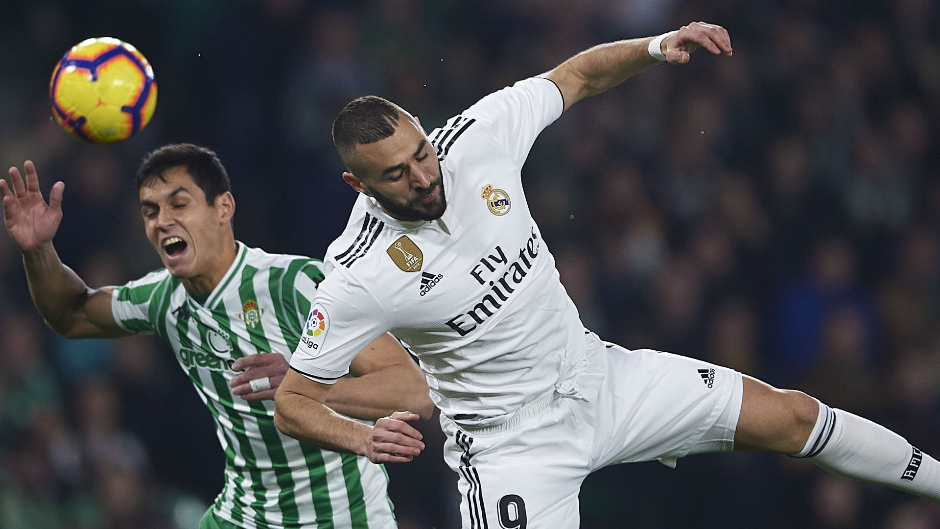 Benzema fit to face Sevilla despite broken finger, Solari confirms