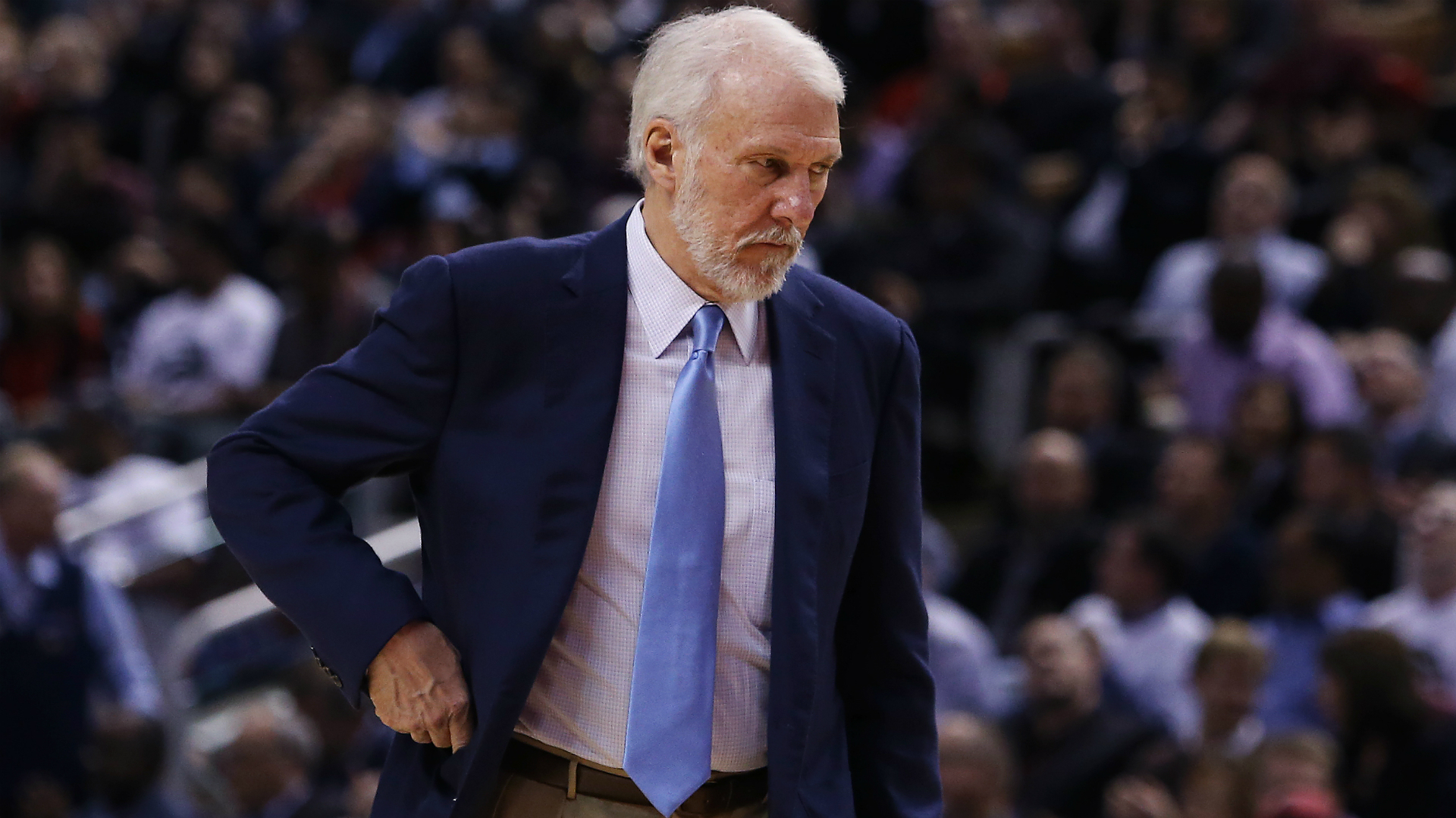 Spurs coach Popovich uncertain if he will return next season
