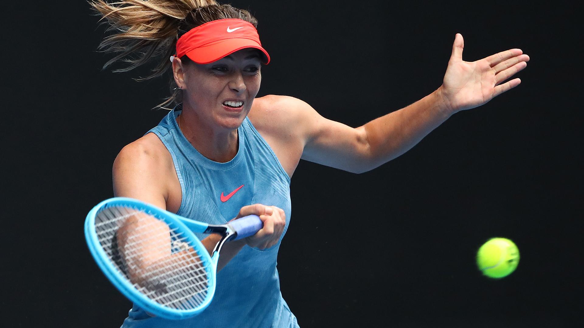 Sharapova ends Wozniacki title defence