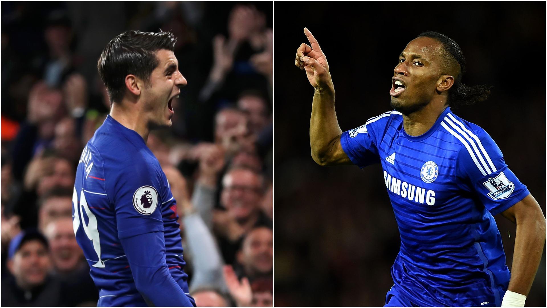 Misfiring Morata or devastating Drogba - how will Pulisic follow Chelsea's biggest buys?