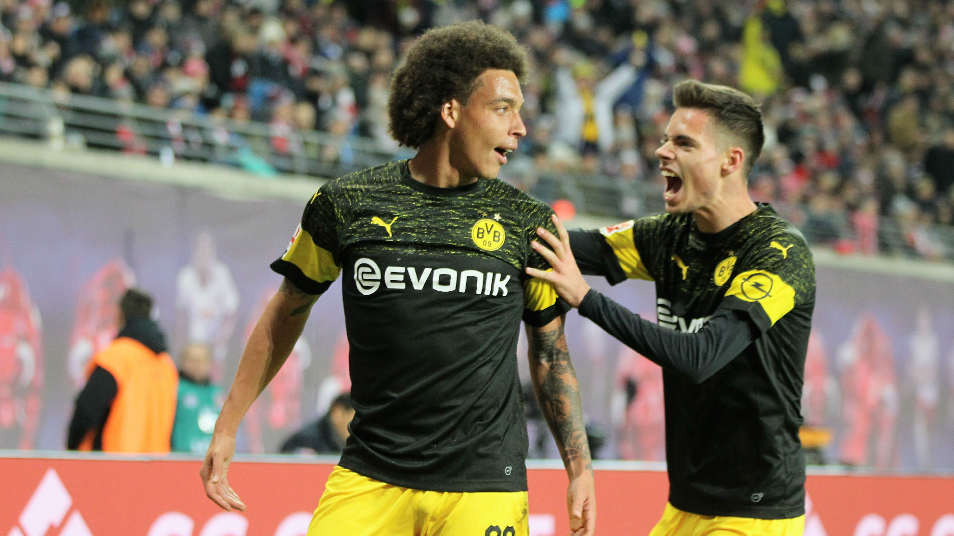 RB Leipzig 0 Borussia Dortmund 1: Witsel restores six-point cushion