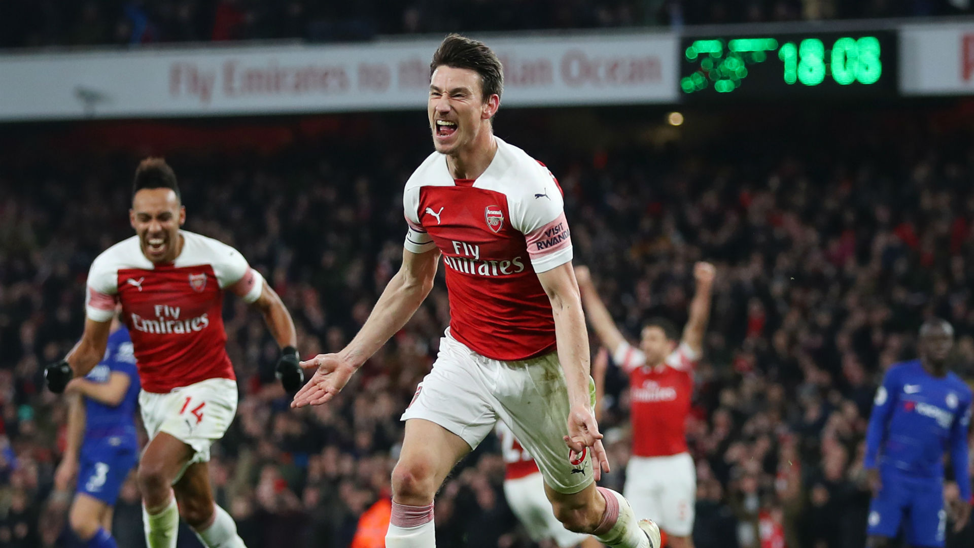 Koscielny hails Arsenal fighting spirit in Chelsea win