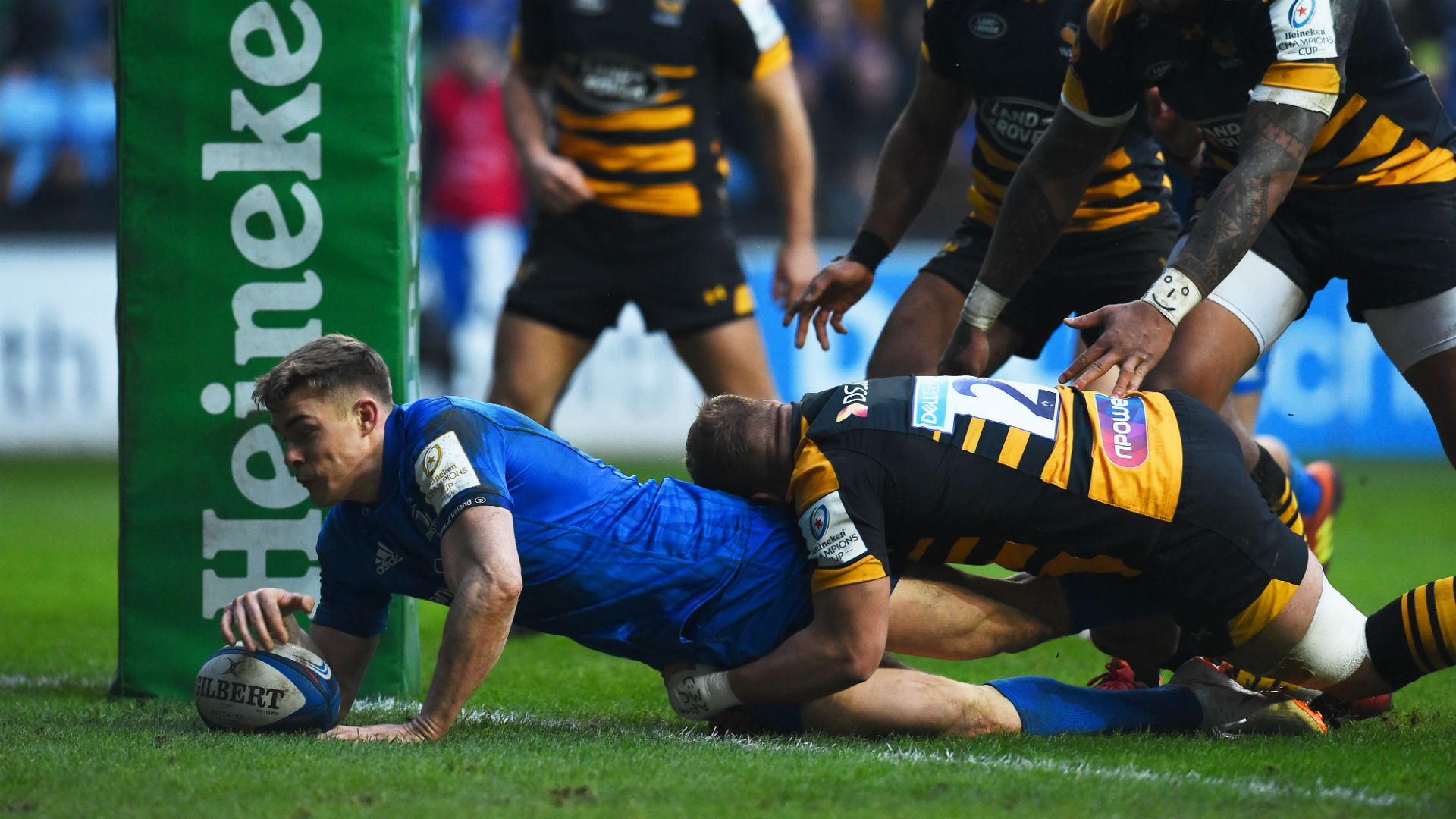 Leinster seal home quarter-final with win over Wasps