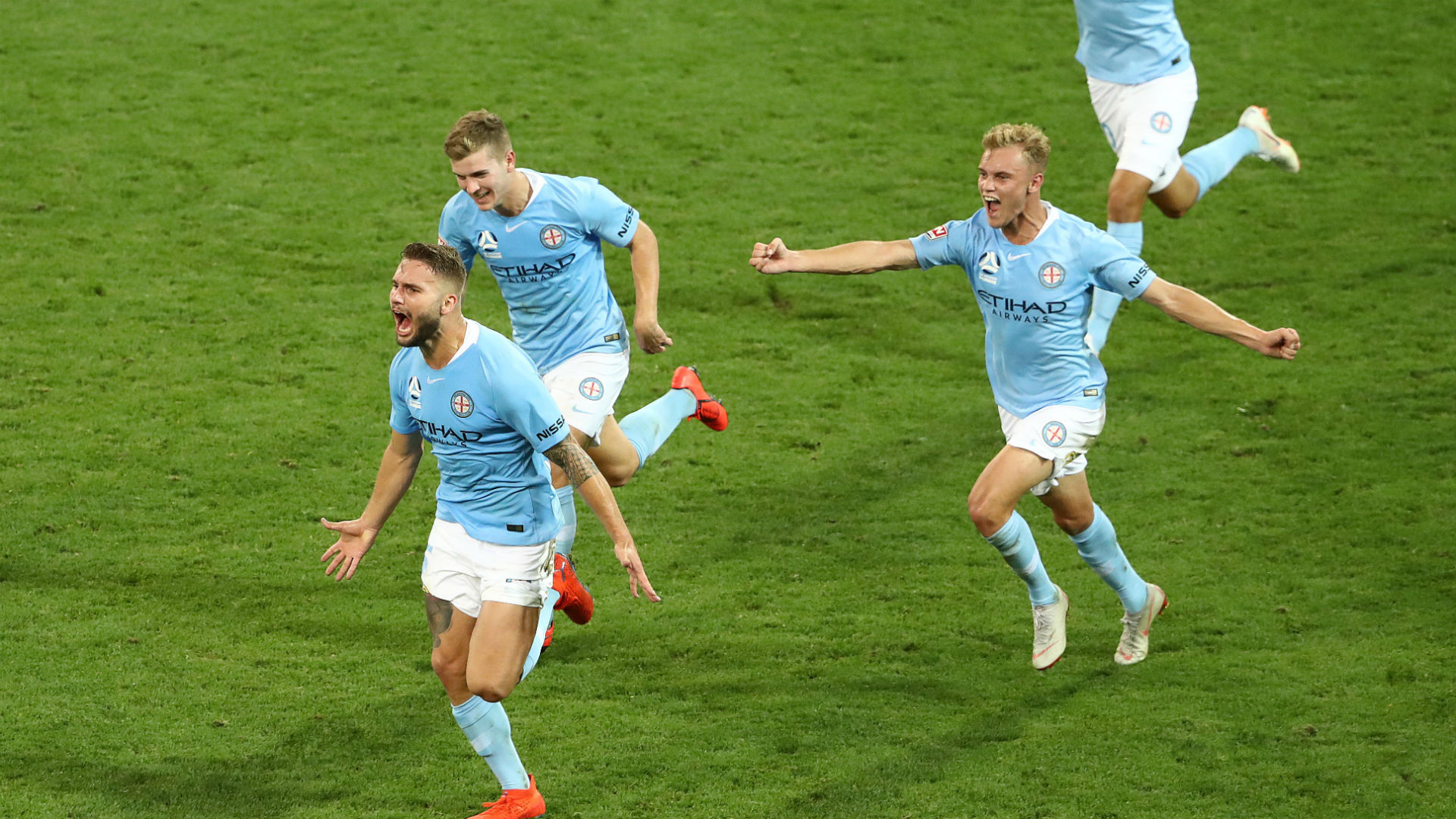 Melbourne City 4 Western Sydney Wanderers 3: Hosts edge thriller with two goals in last six minutes