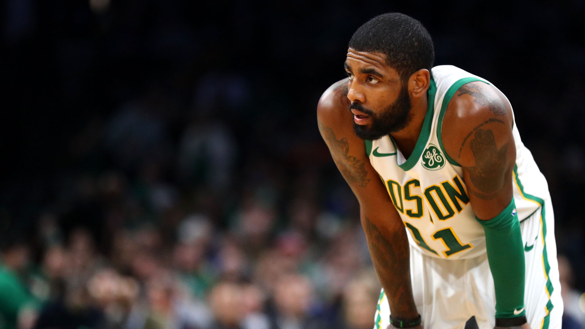 Celtics' Kyrie Irving to sit out Cavs game with flu-like symptoms