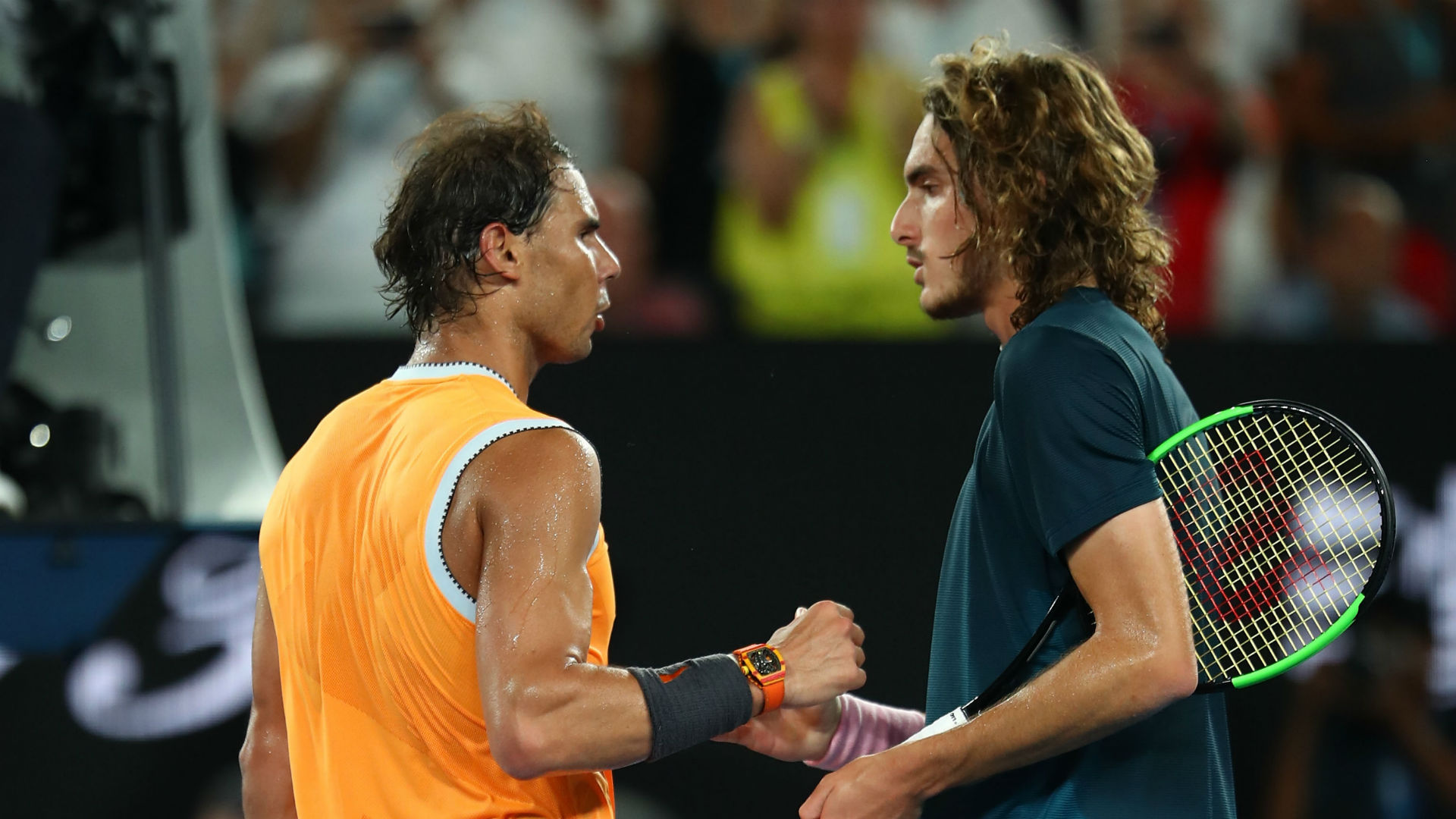 Nadal plays tennis from a different dimension, says stunned Tsitsipas