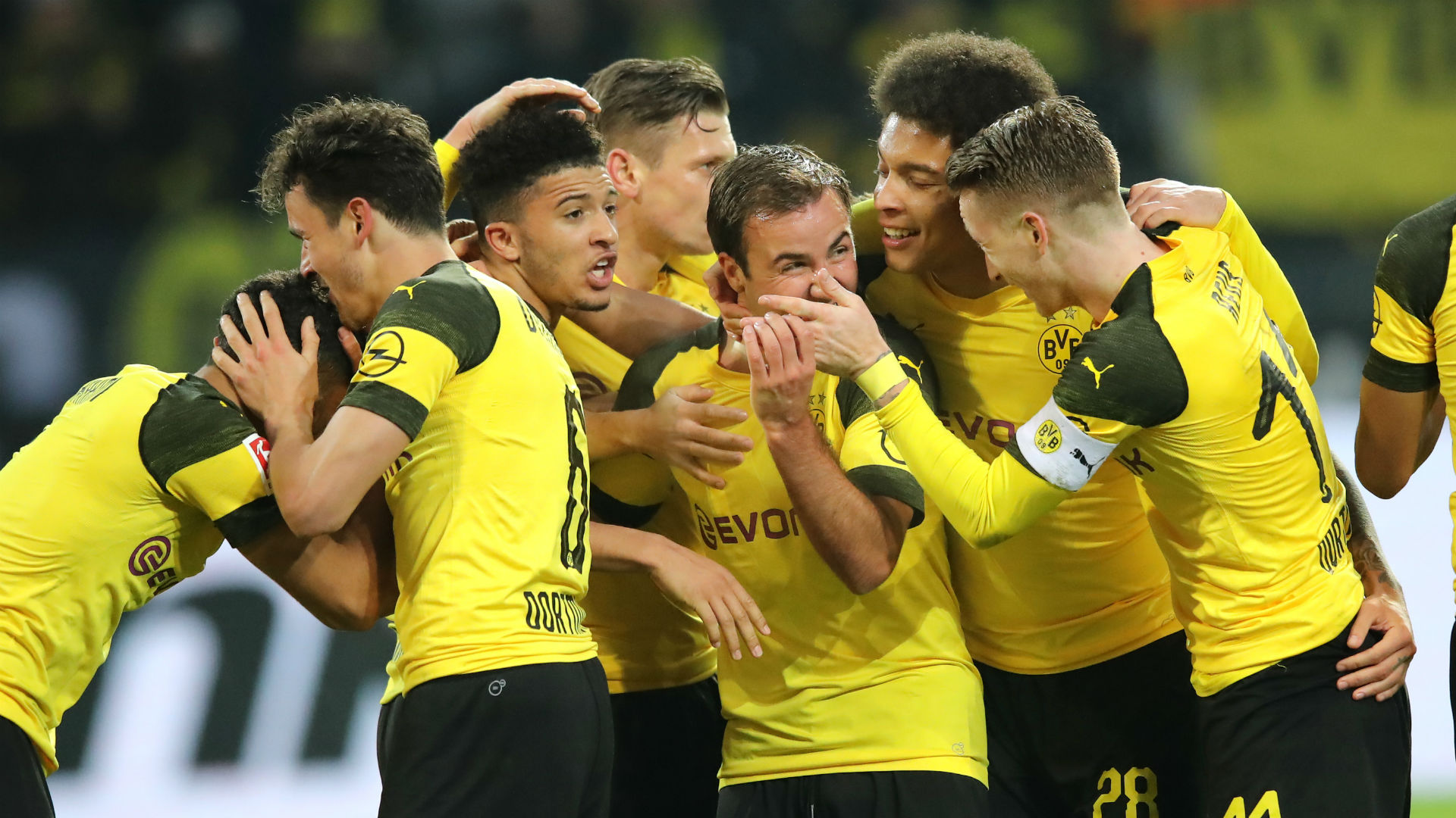 Dortmund set new record points haul after 19-match mark