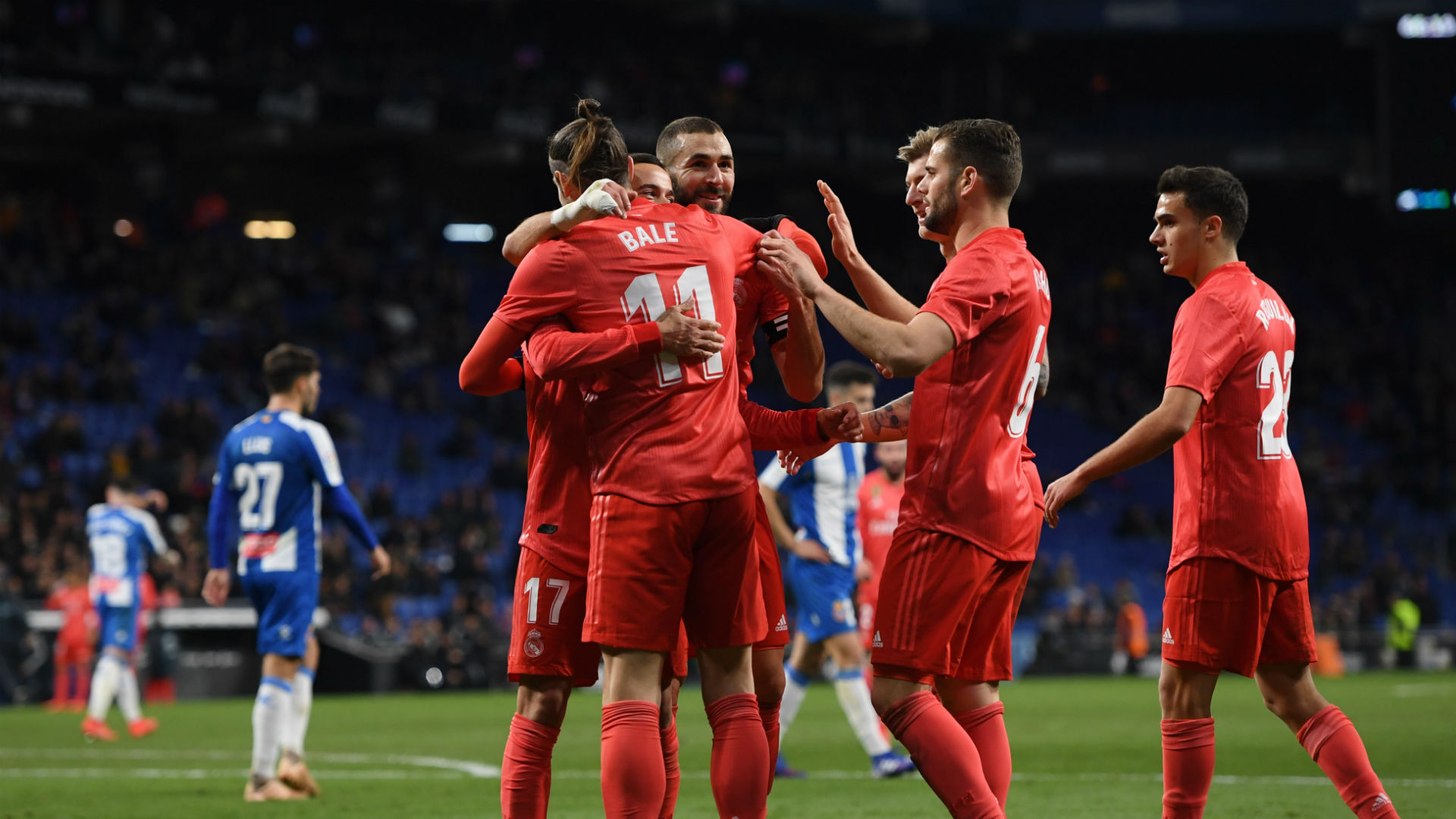 Solari lauds two-goal Benzema after inspired Espanyol display