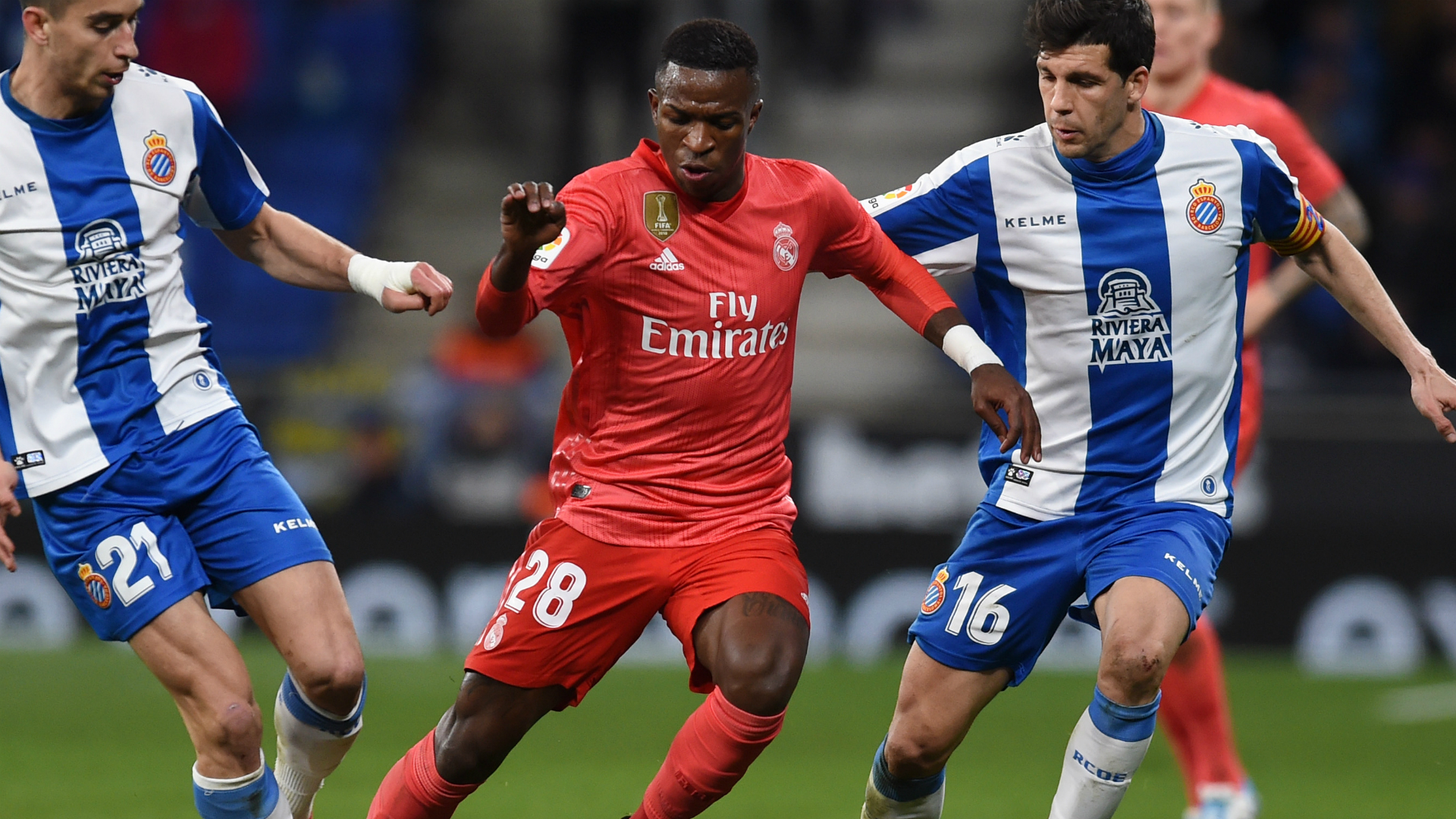 Vinicius happy with Real Madrid role