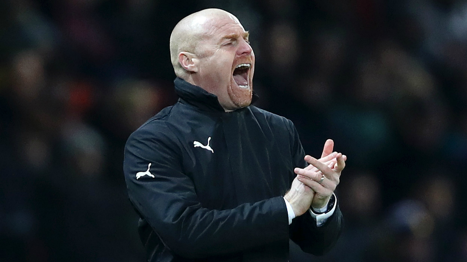 Dyche frustrated with officials after Man United late show denies Burnley