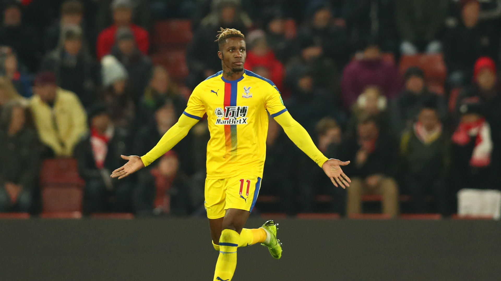 Southampton 1 Crystal Palace 1: Zaha sent off as Ward-Prowse late show salvages point