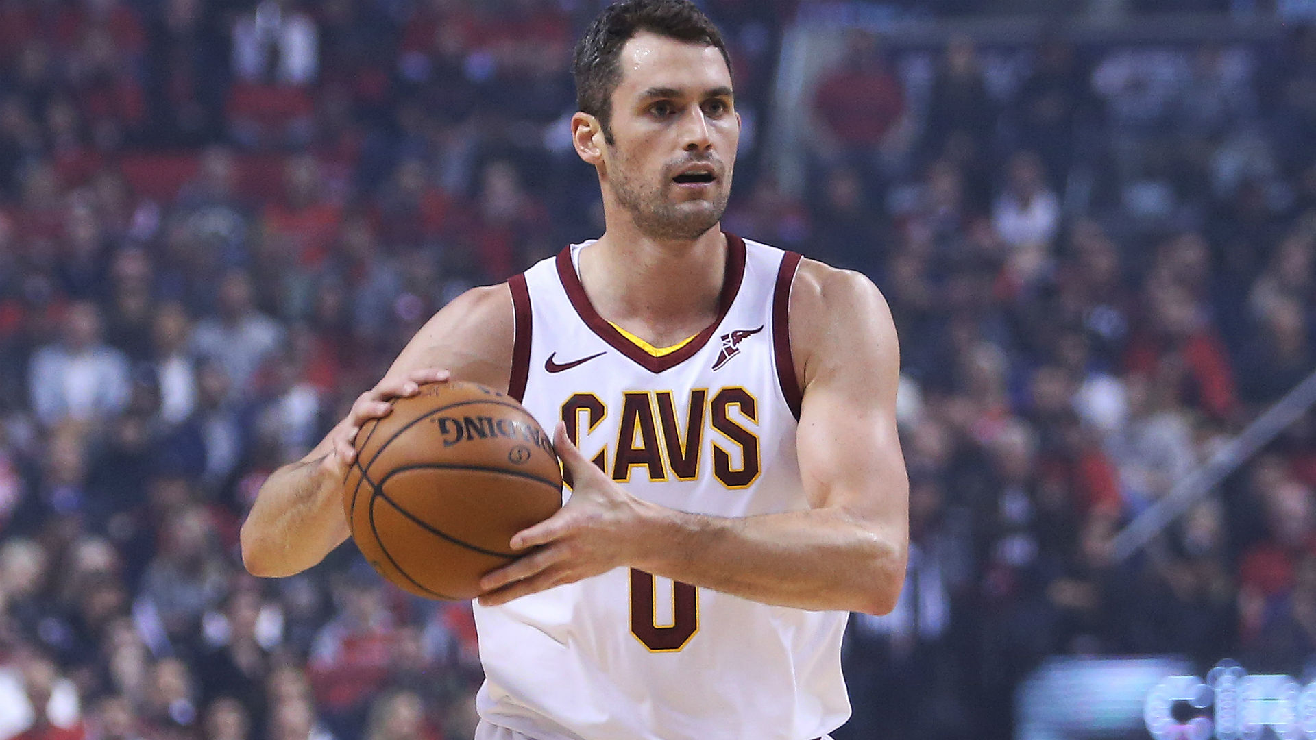Cavaliers coach Larry Drew discusses trade rumors surrounding Kevin Love