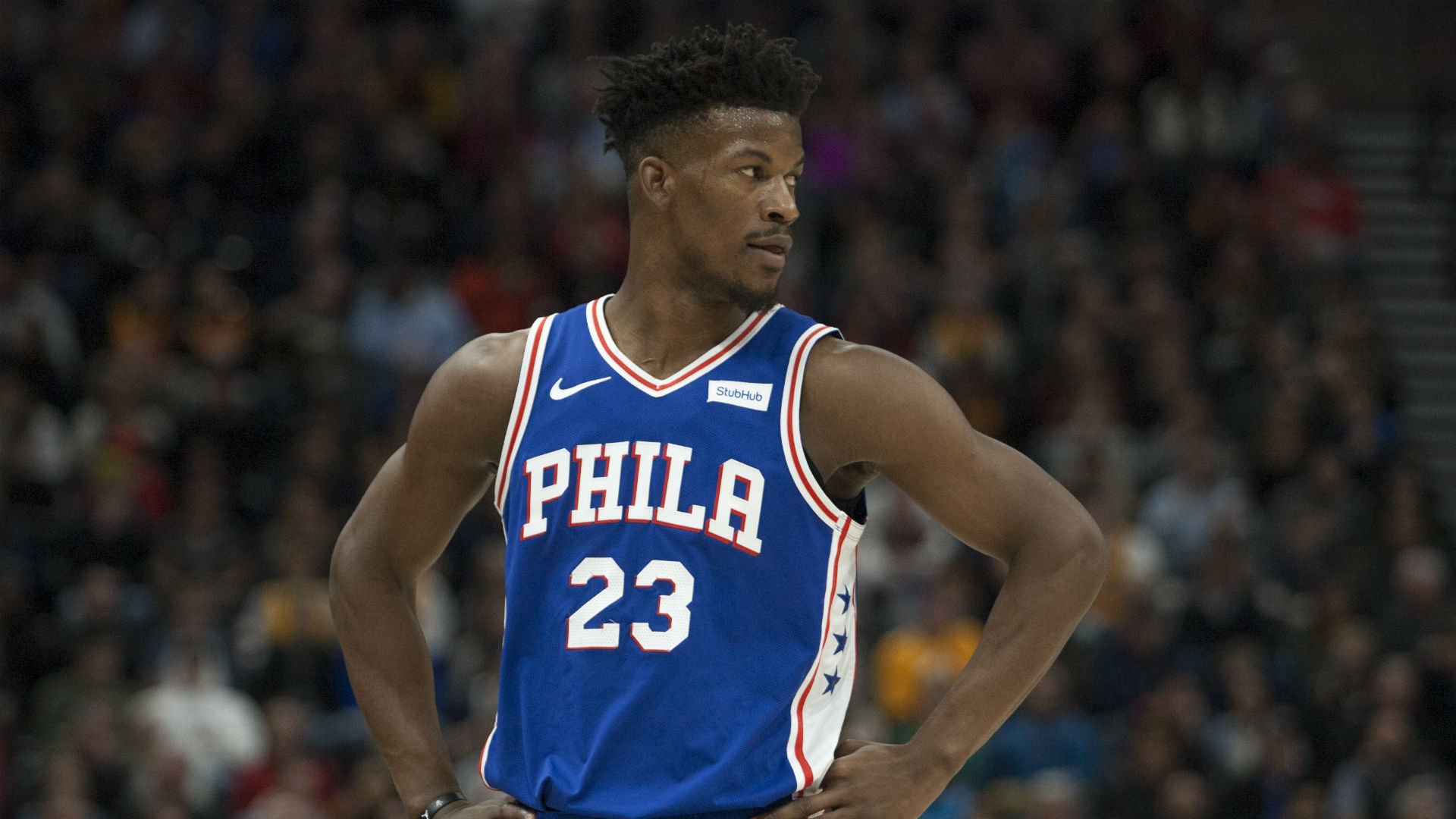 cheap for discount 4f2bc 0c423 76ers' Jimmy Butler 'aggressively' challenging coach Brett ...