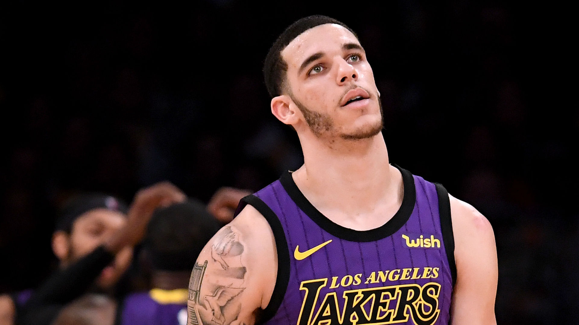 Lakers' Lonzo Ball on loss to Knicks: We didn't come to play