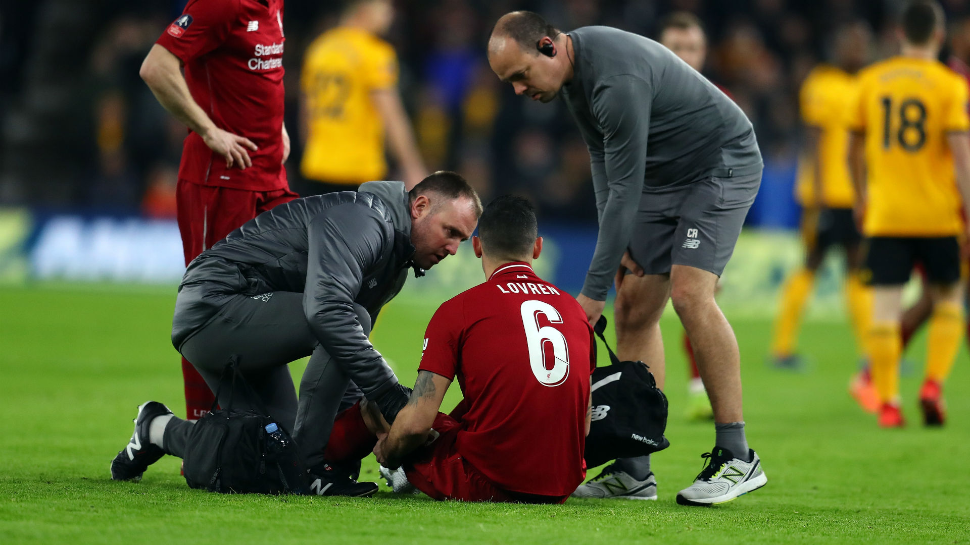 Klopp confirms hamstring injury for Liverpool defender Lovren