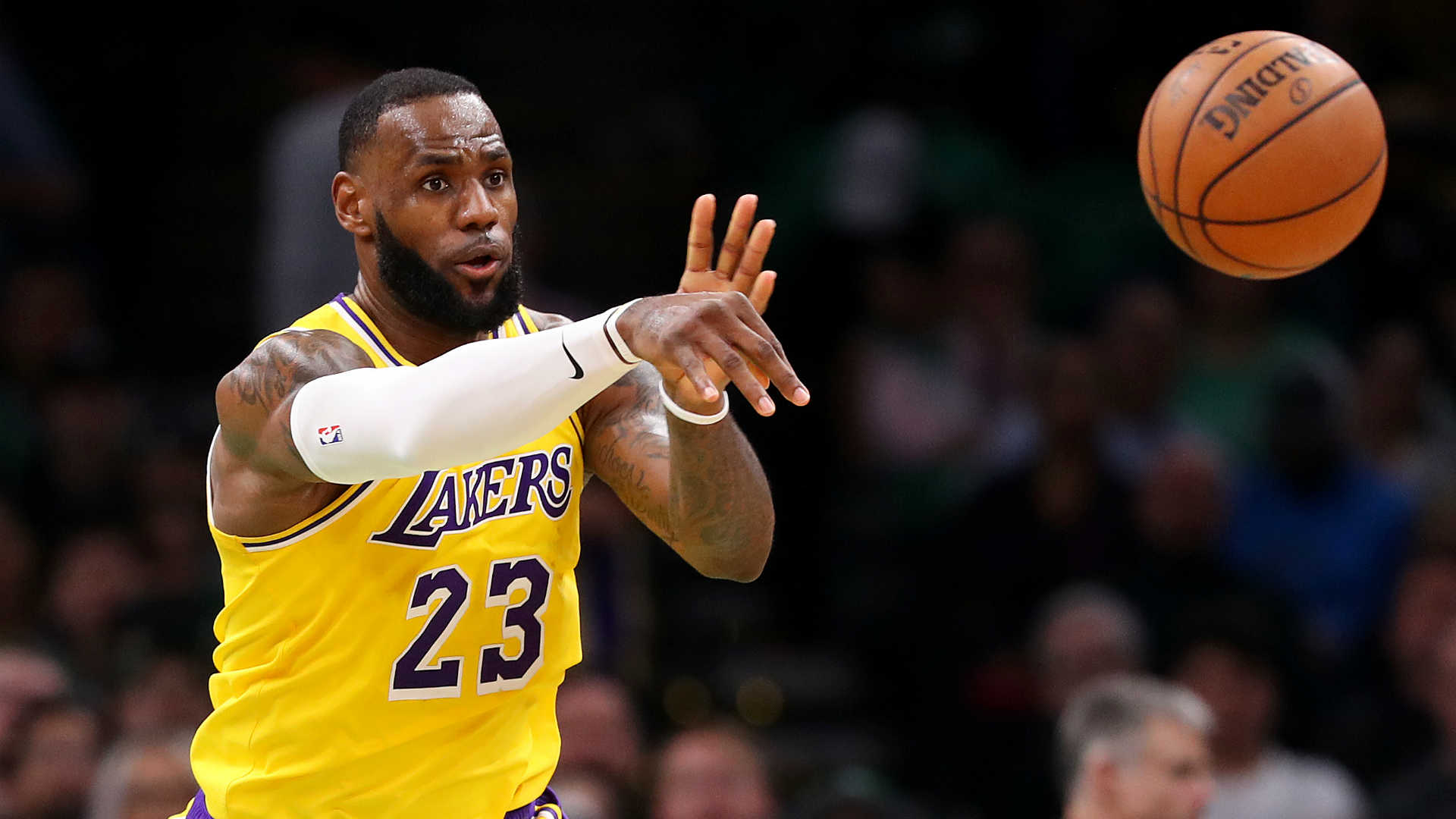 LeBron James as Lakers point guard? 'No imminent plan,' coach Frank Vogel says
