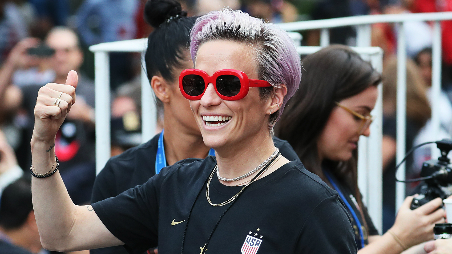 World Cup winner Rapinoe: I'm too busy to run for president!