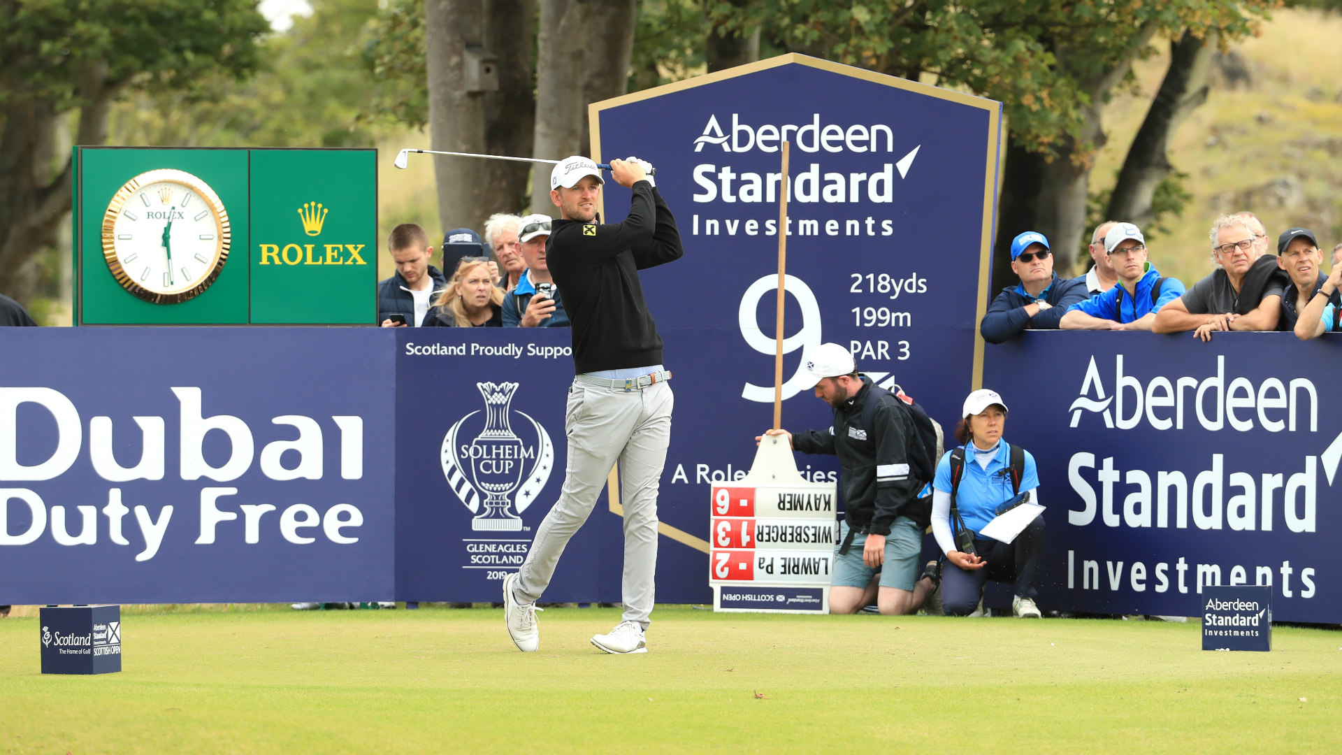 Wiesberger's 61 sees in-form Austrian take share of Scottish Open lead