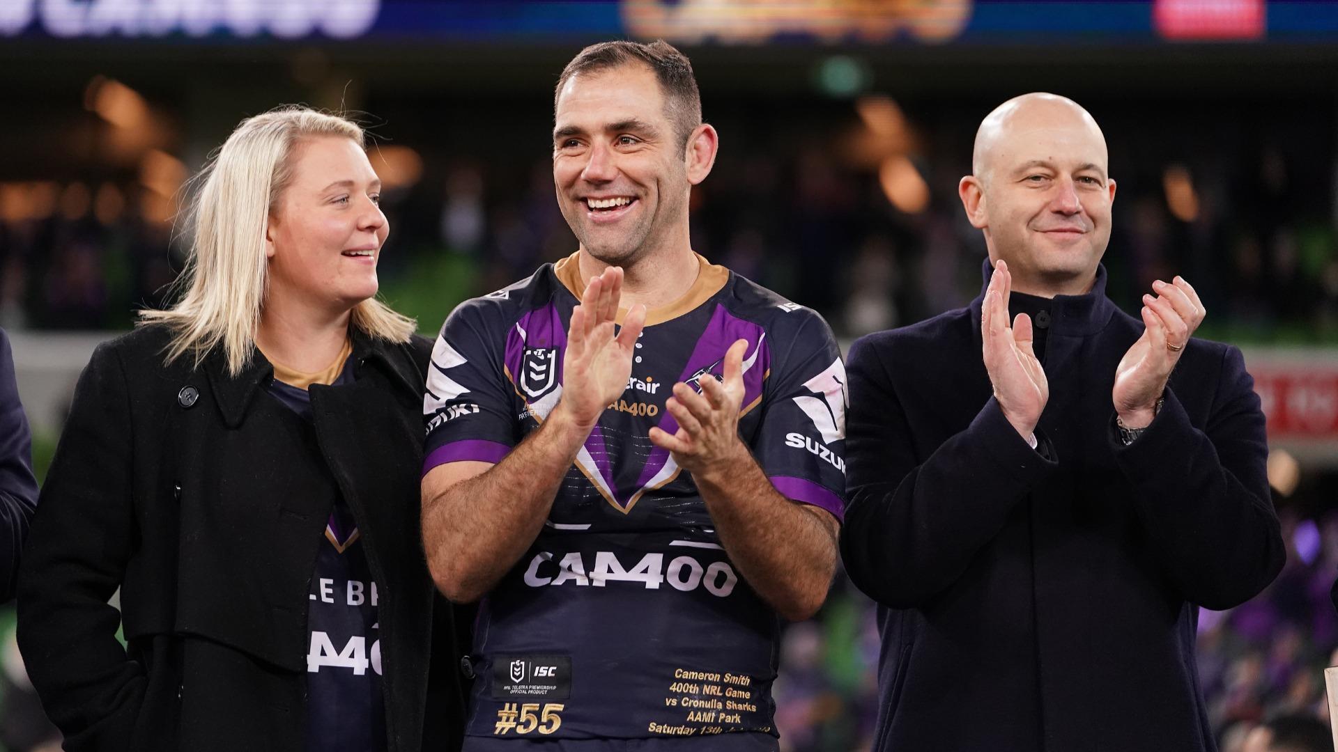 Bellamy honoured to coach 'icon of Australian sport' Smith