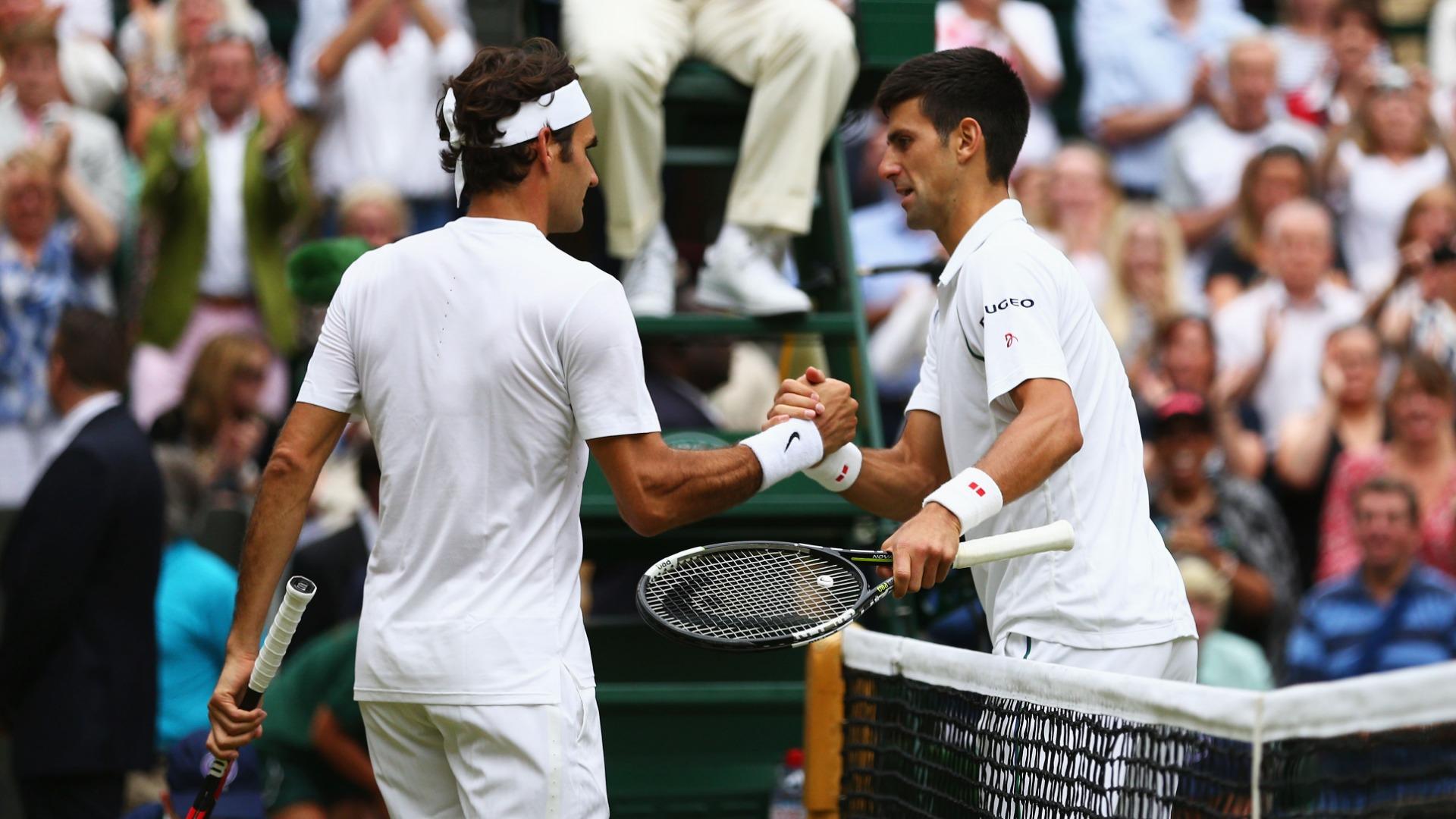 Federer excited for 'brutal' Djokovic final