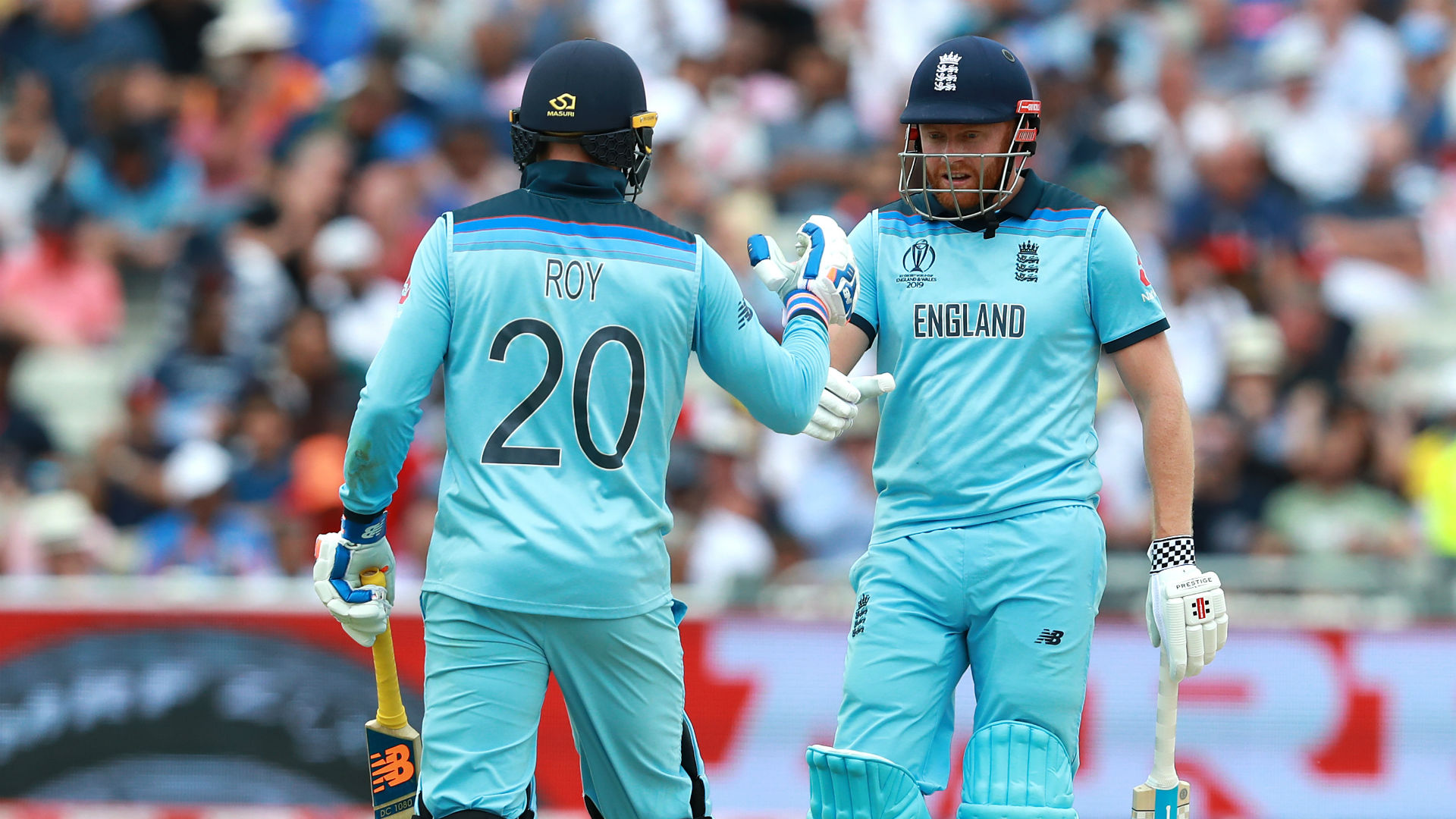 Cricket World Cup 2019: Roy and Bairstow's brilliance highlights NZ woes