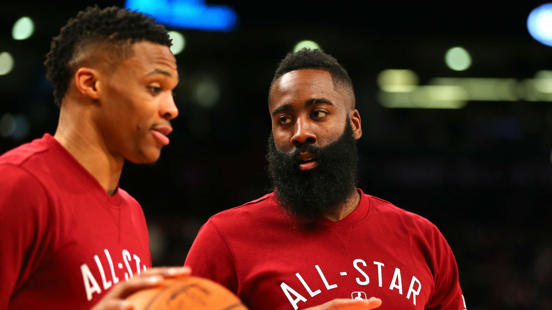 Harden on Westbrook trade: 'It's going to be a lot of fun this year'