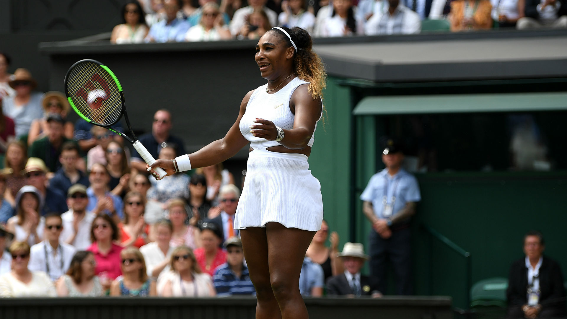 I was a deer in the headlights - Serena congratulates outstanding Halep
