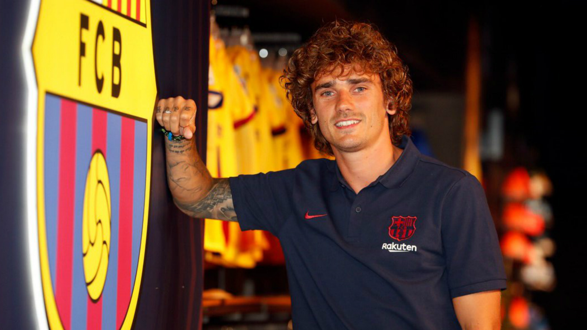 Playing next to him is an incredible joy - Griezmann ready to link with Messi